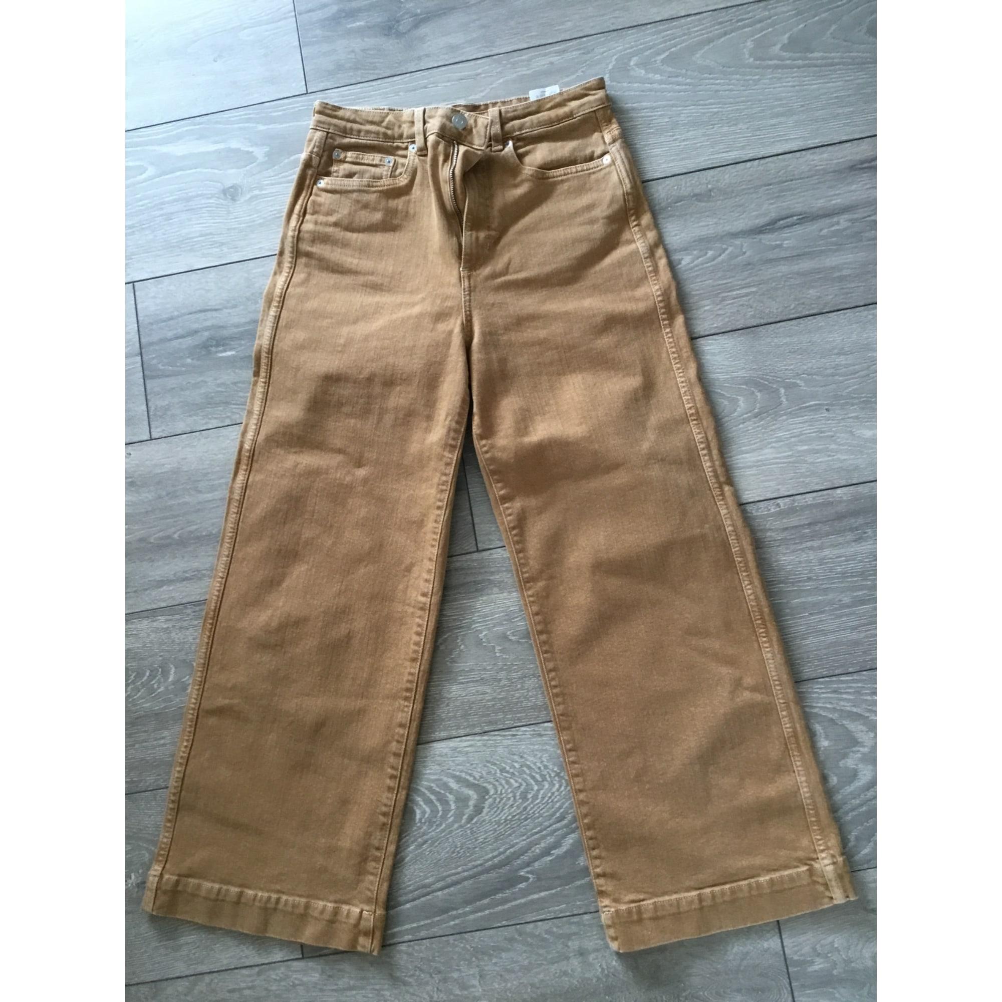 Jeans évasé, boot-cut WEEKDAY Orange