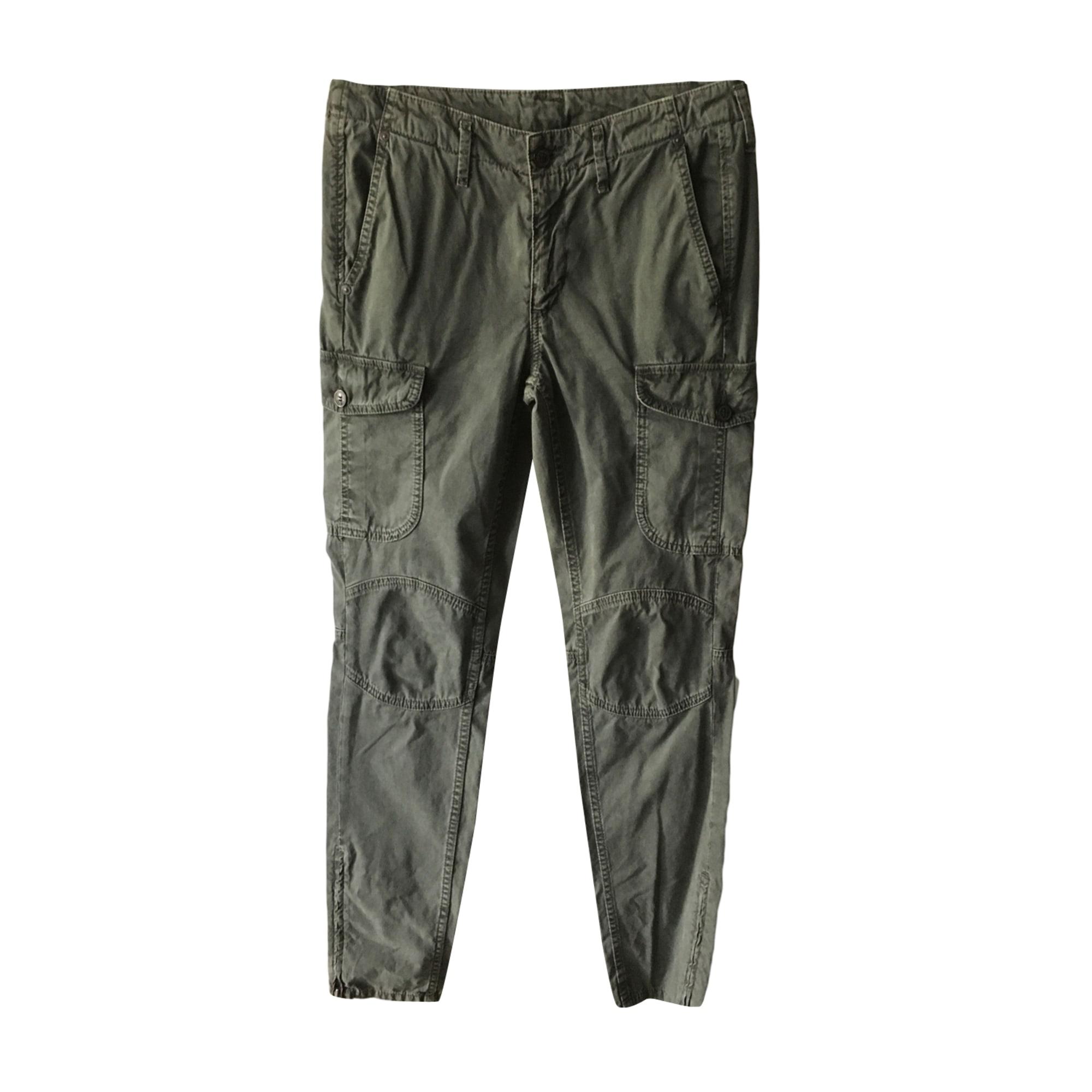 Jeans droit PEPE JEANS Kaki
