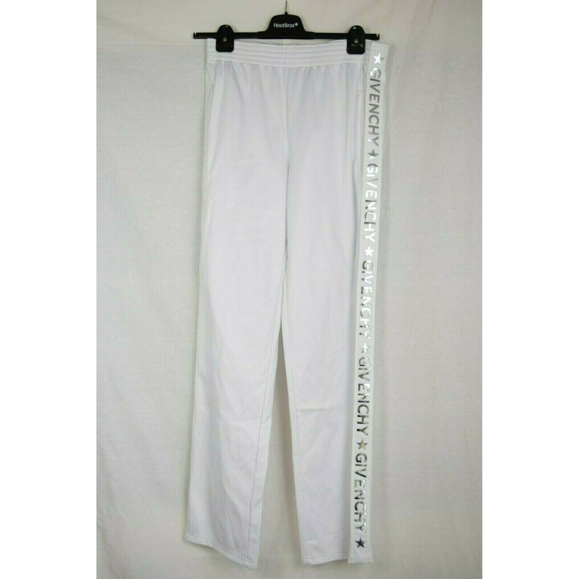 Pantalon droit GIVENCHY Blanc, blanc cassé, écru