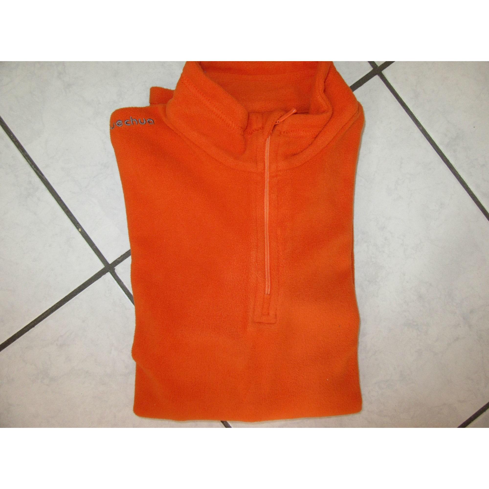 Polaire DÉCATHLON Orange