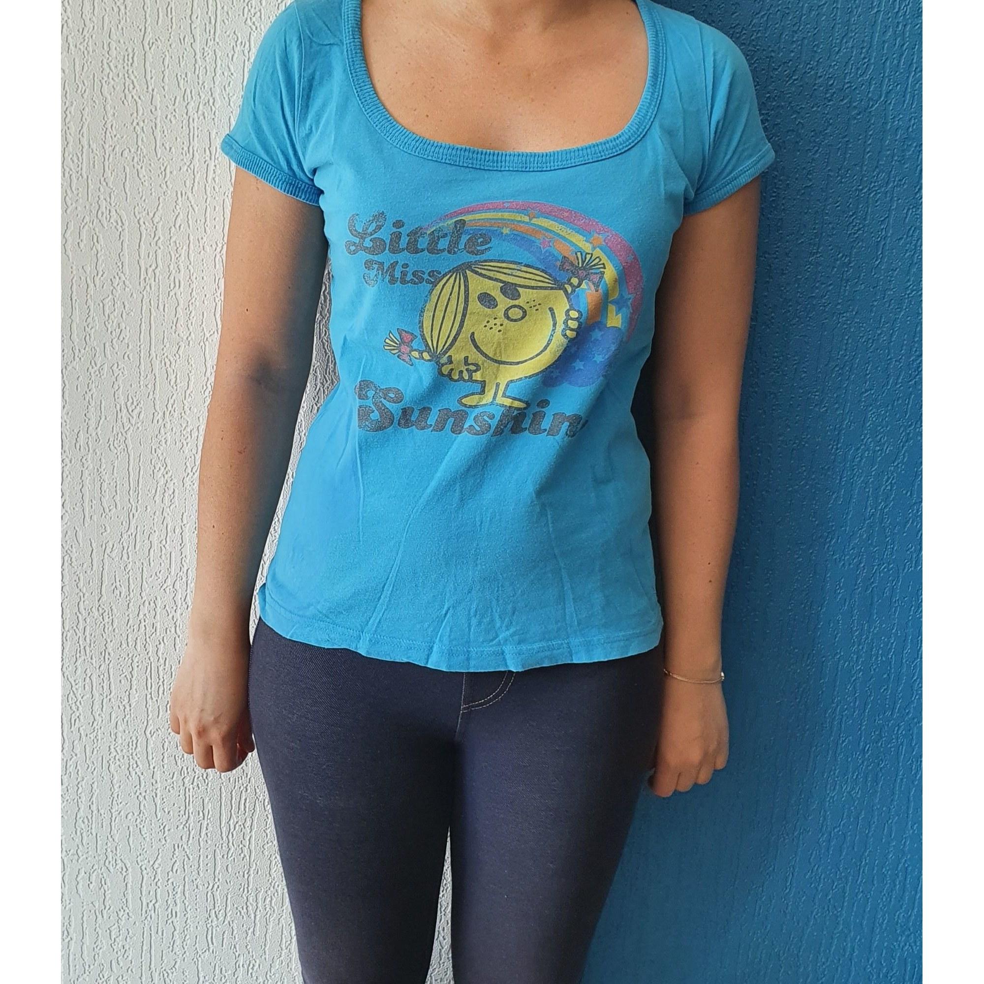 Top, tee-shirt MR. MEN & LITLLE MISS Bleu, bleu marine, bleu turquoise