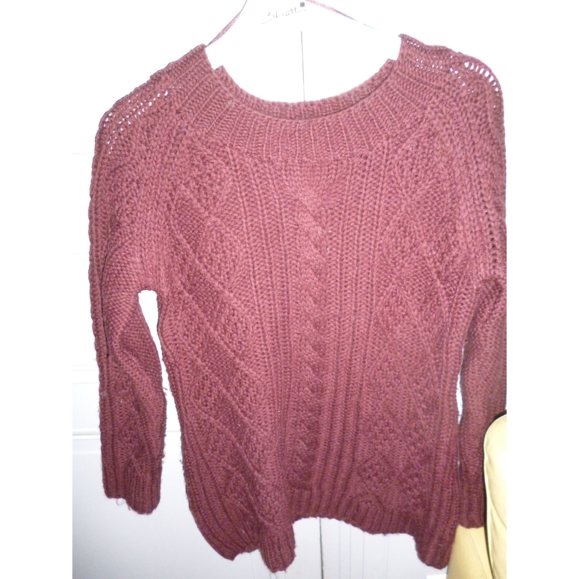 Pull GERARD DAREL Rouge, bordeaux