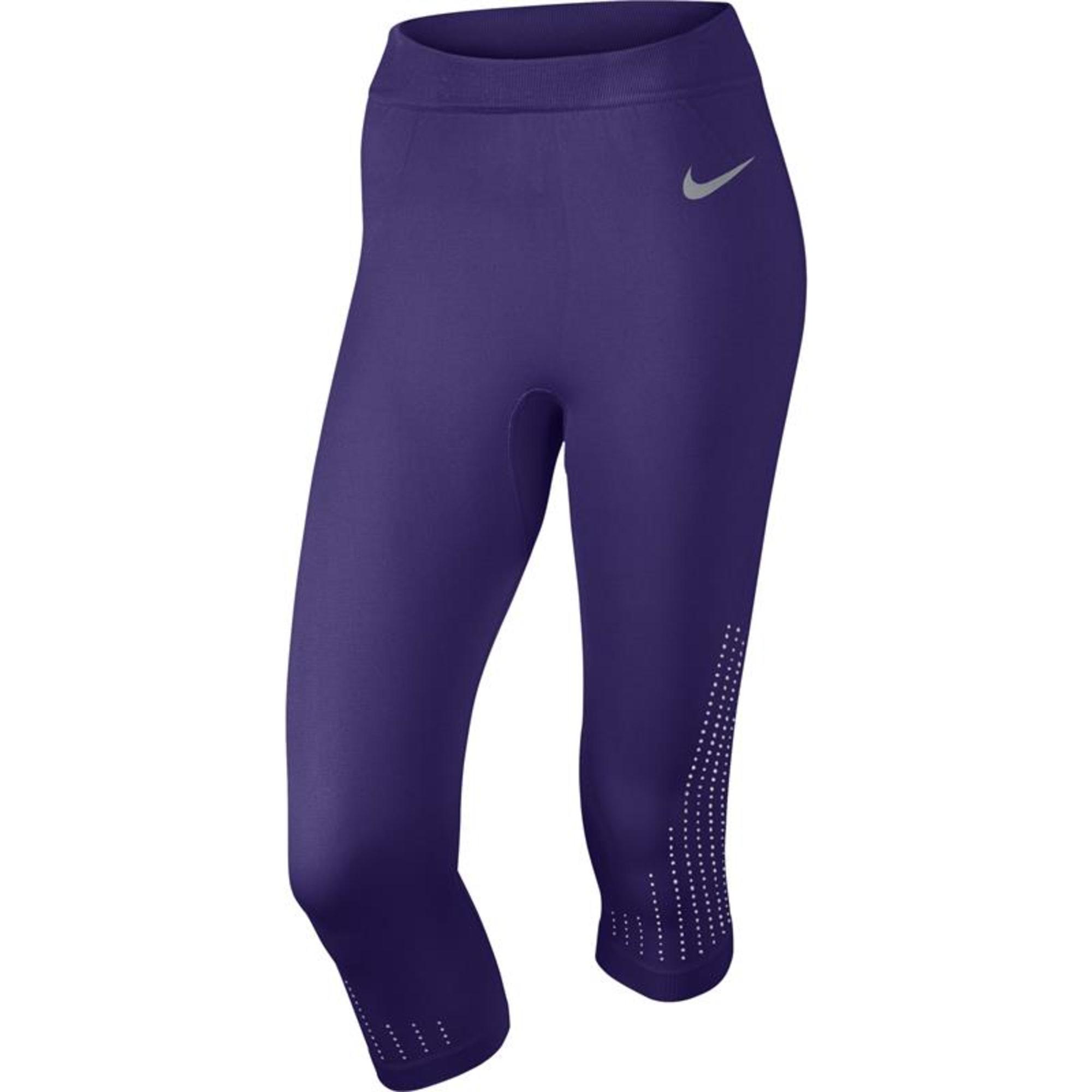 Pantalon de fitness NIKE Violet, mauve, lavande