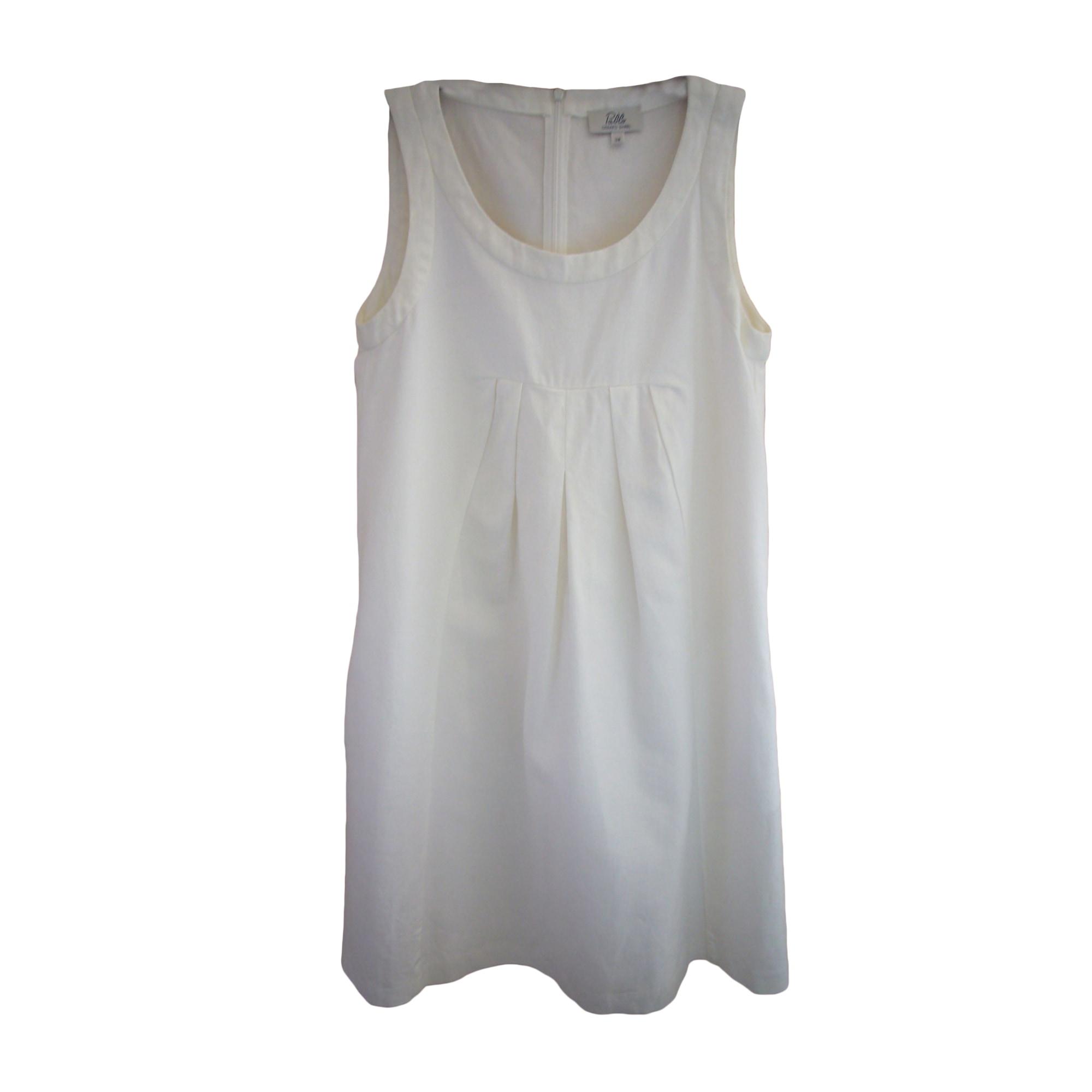 Robe mi-longue GERARD DAREL Blanc, blanc cassé, écru