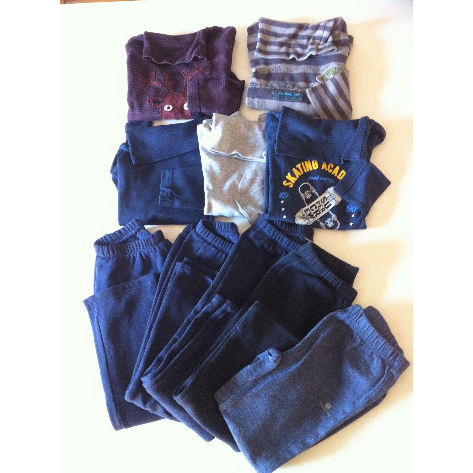 Ensemble & Combinaison pantalon SERGENT MAJOR bordeaux, bleu marine, noir, gris clair