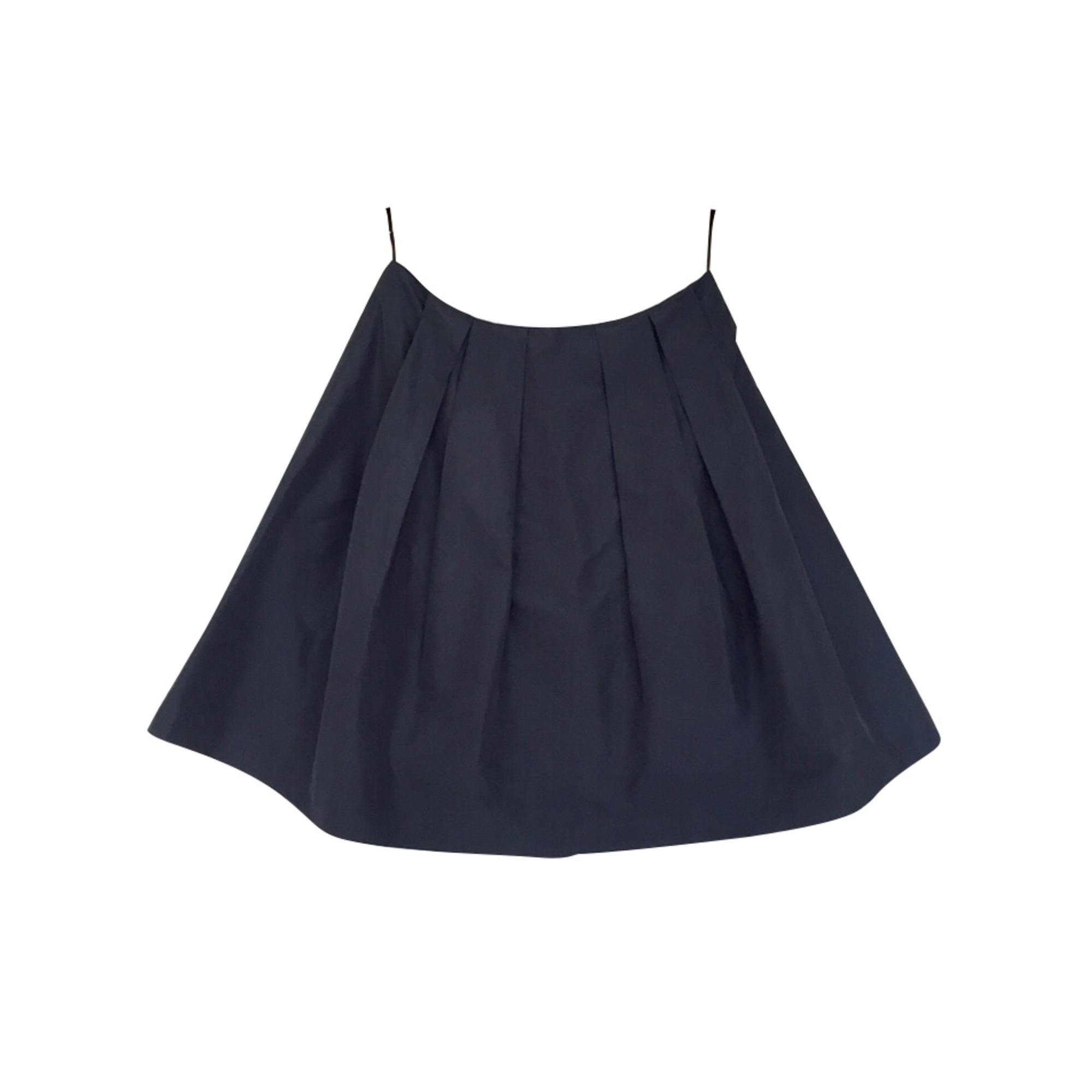 Jupe mi-longue MIU MIU Bleu, bleu marine, bleu turquoise
