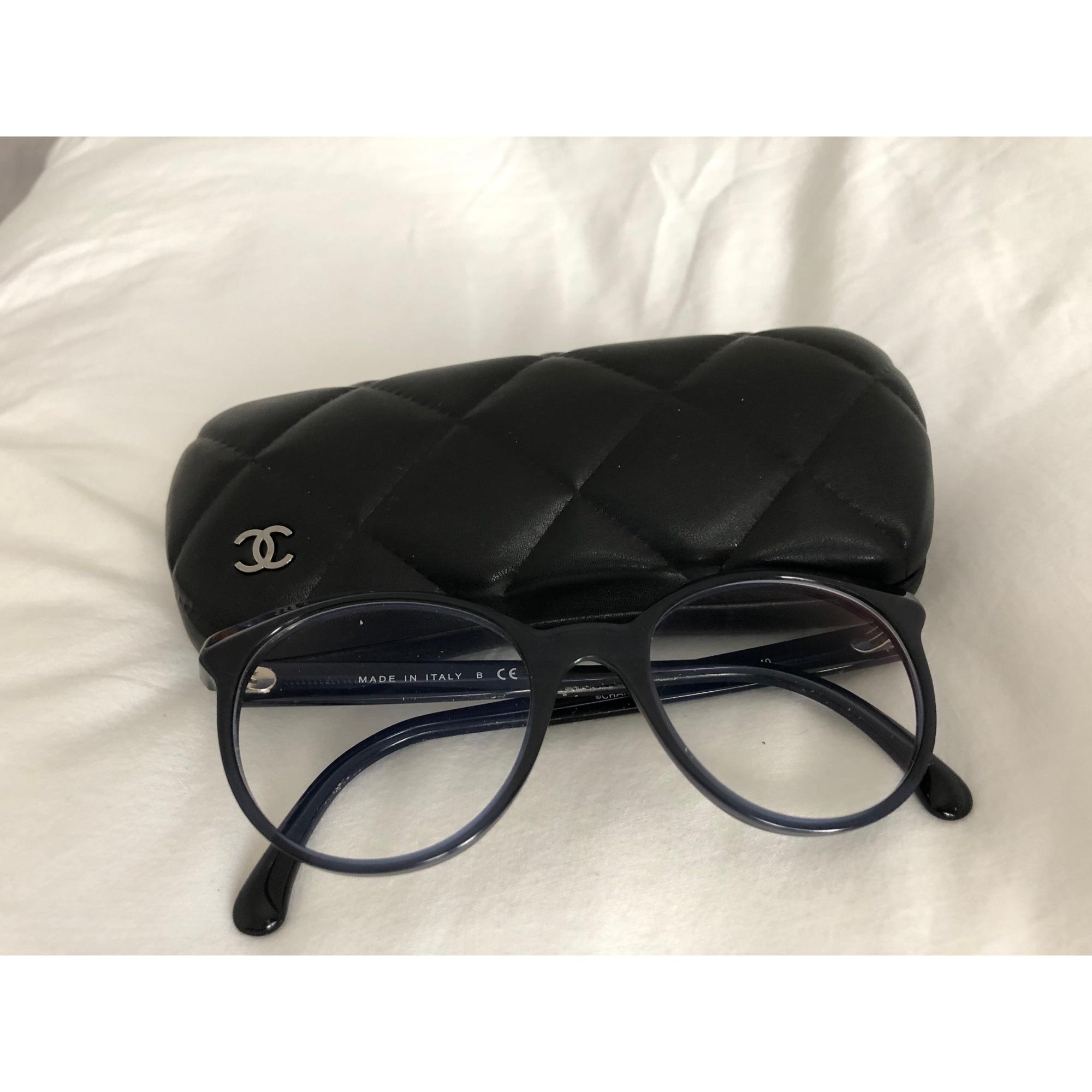 Monture de lunettes CHANEL Bleu, bleu marine, bleu turquoise