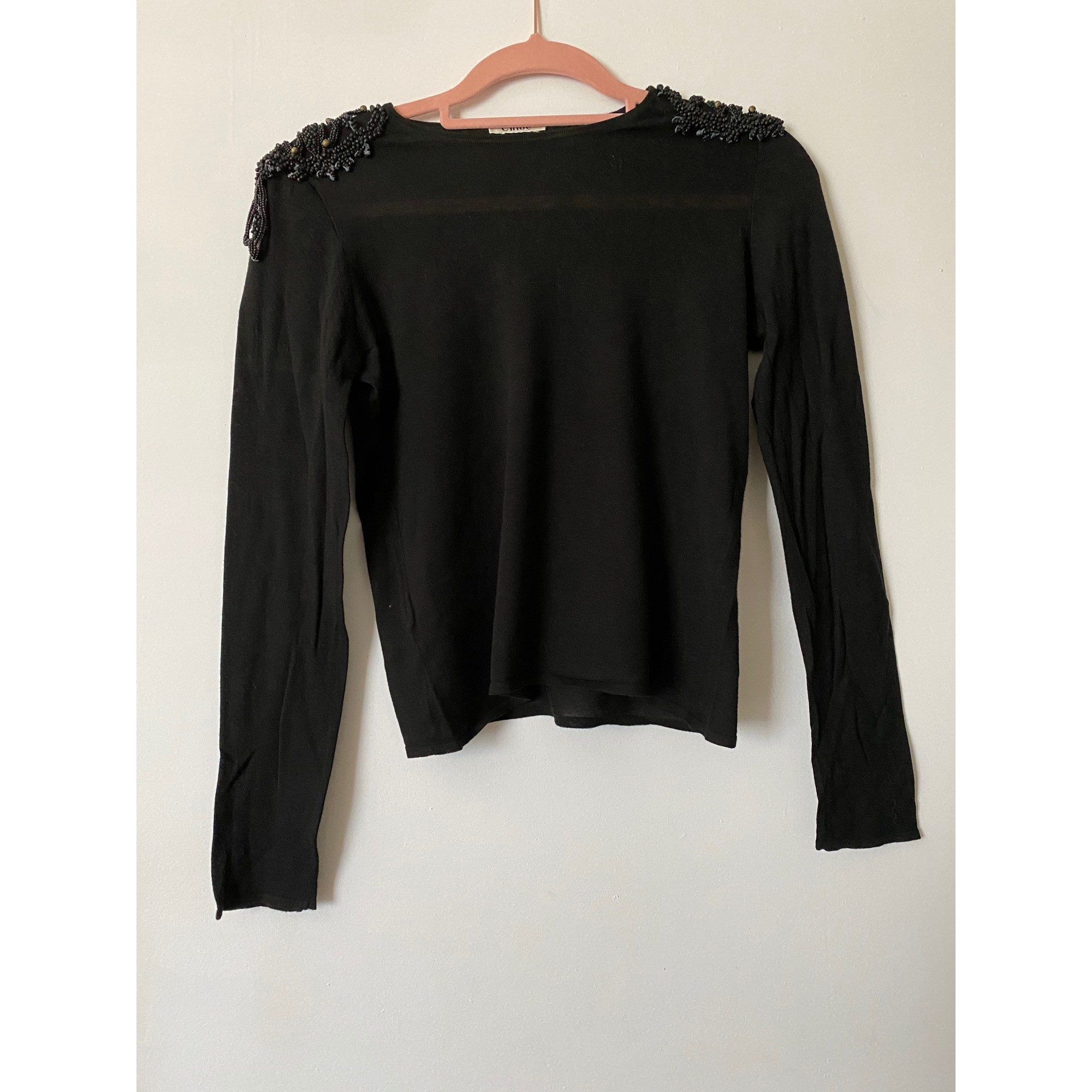 Top, tee-shirt CHLOÉ Noir