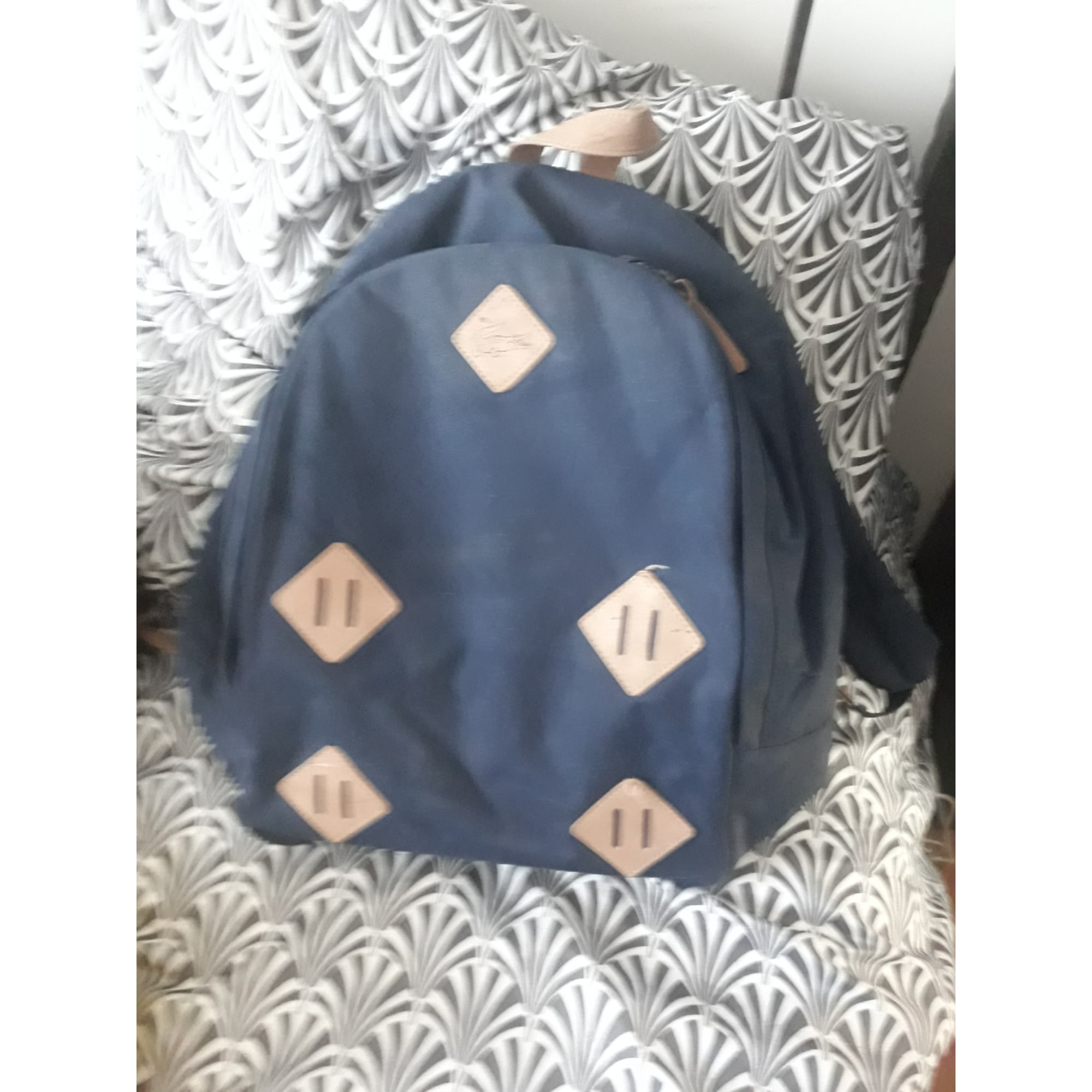 Backpack LACOSTE Blue, navy, turquoise