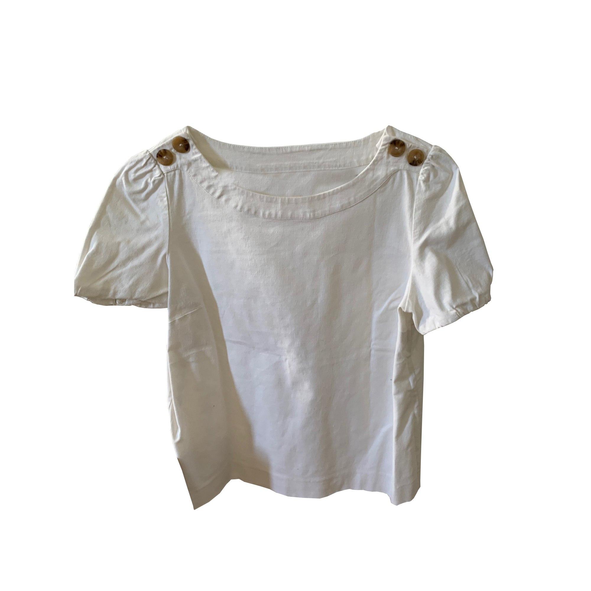 Blouse SÉZANE Blanc, blanc cassé, écru