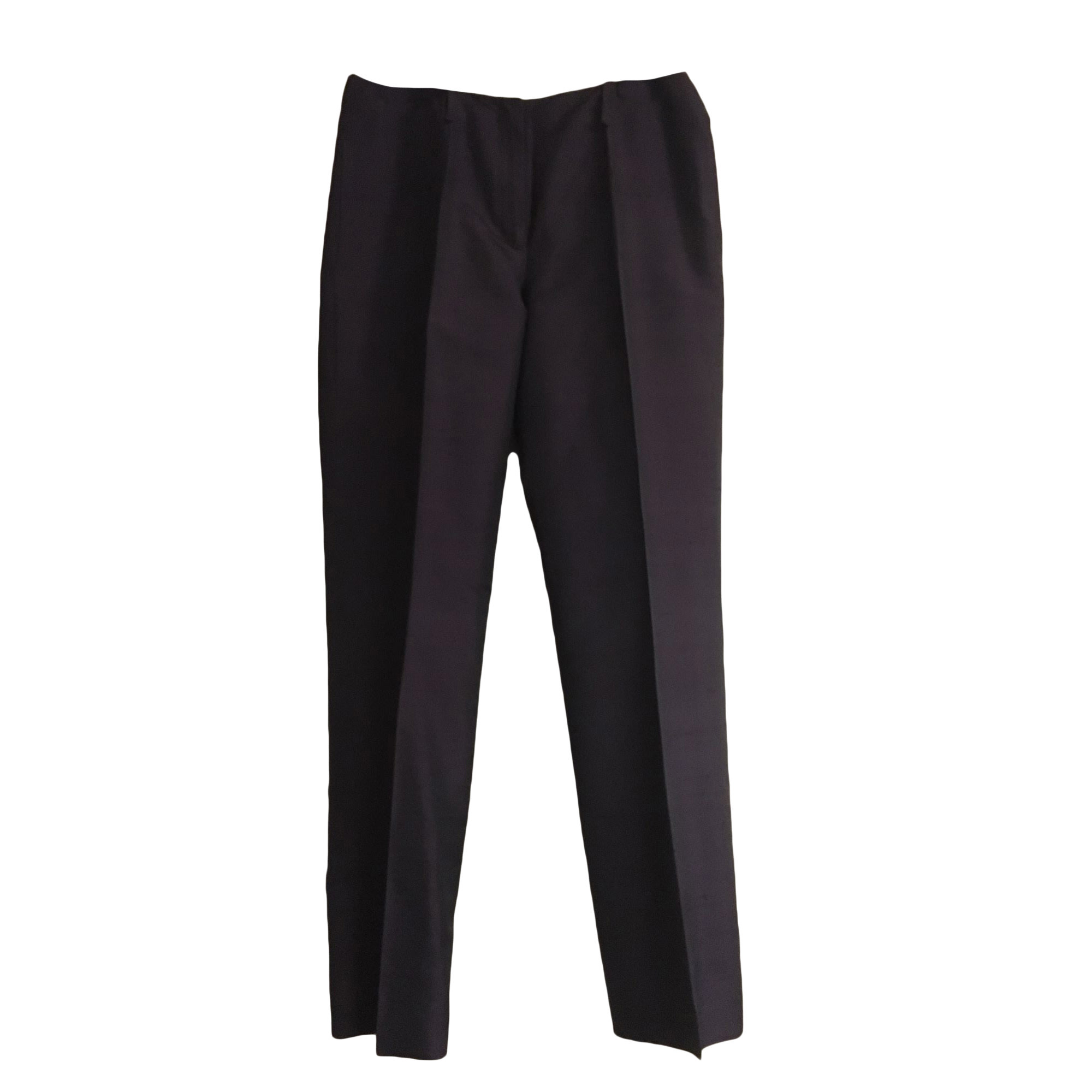 Pantalon droit IRO Violet, mauve, lavande