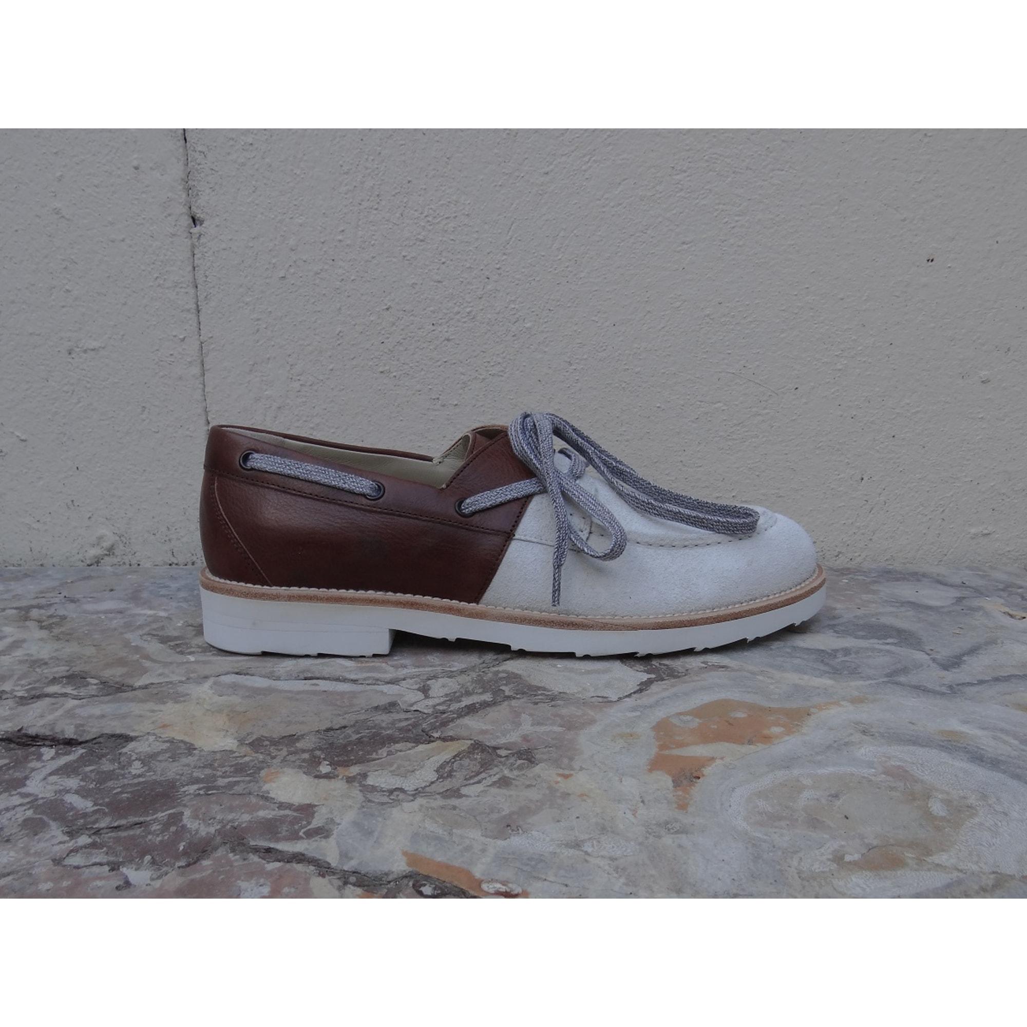 Lace Up Shoes DOLCE & GABBANA White, off-white, ecru