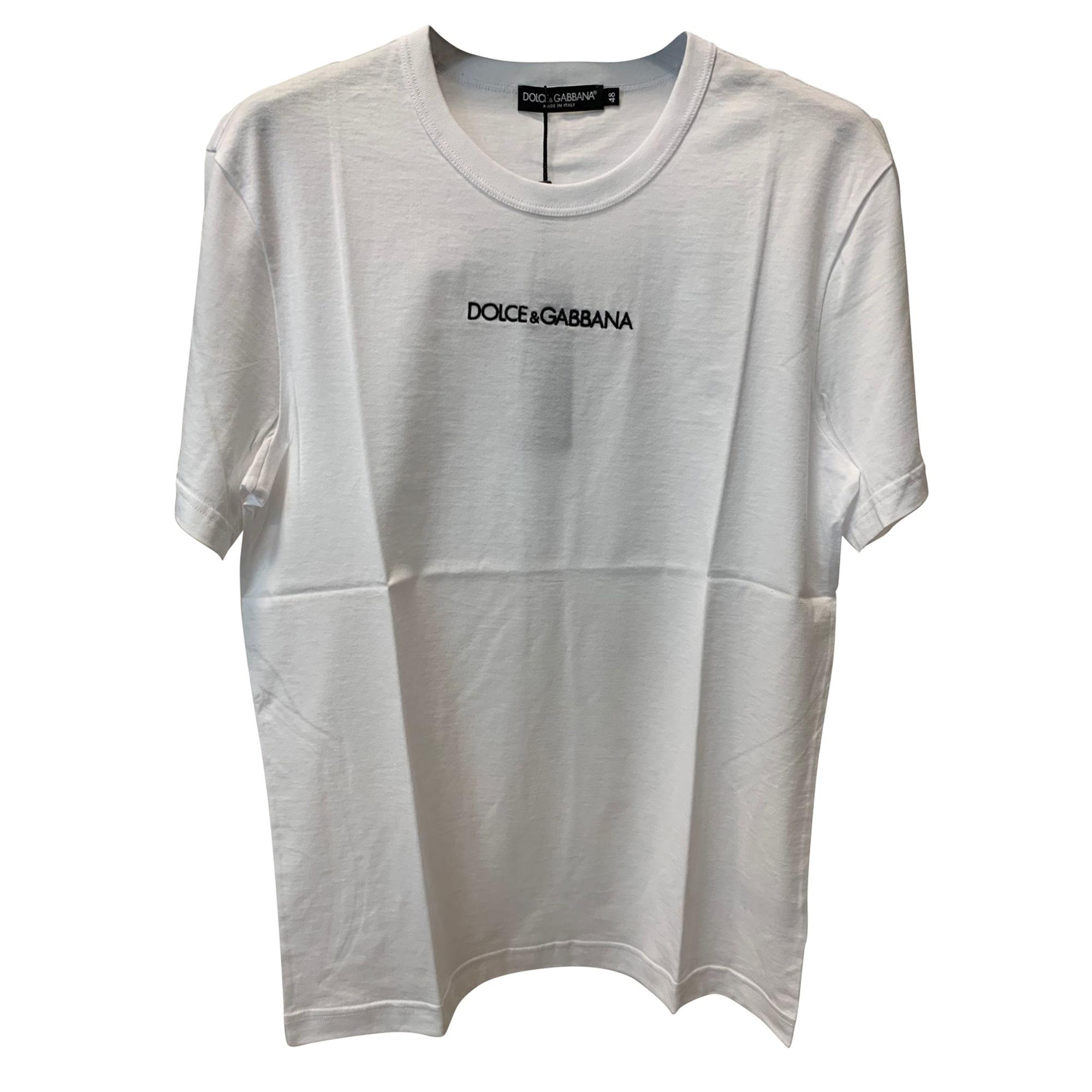 T-shirt DOLCE & GABBANA White, off-white, ecru