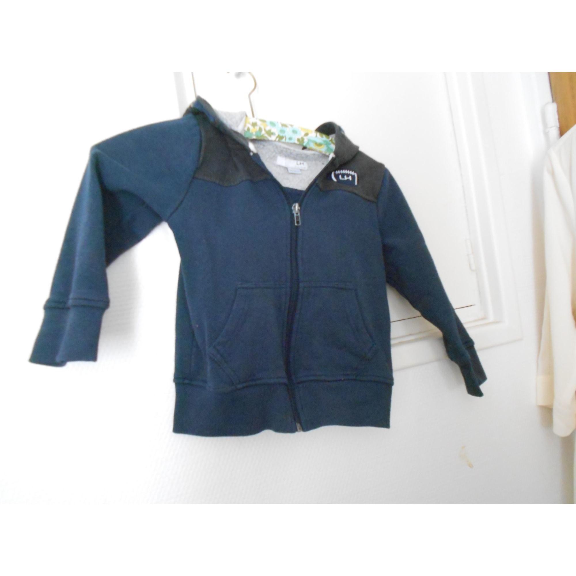 Sweat LA HALLE Bleu, bleu marine, bleu turquoise