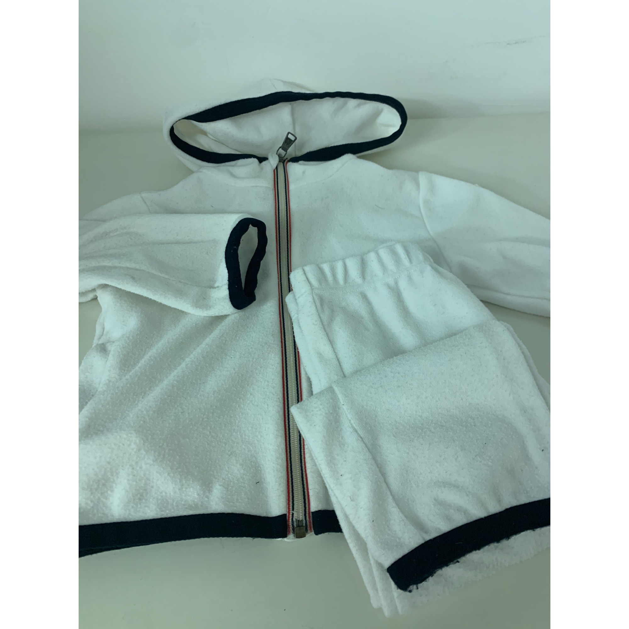 Ensemble & Combinaison pantalon MONCLER Blanc, blanc cassé, écru
