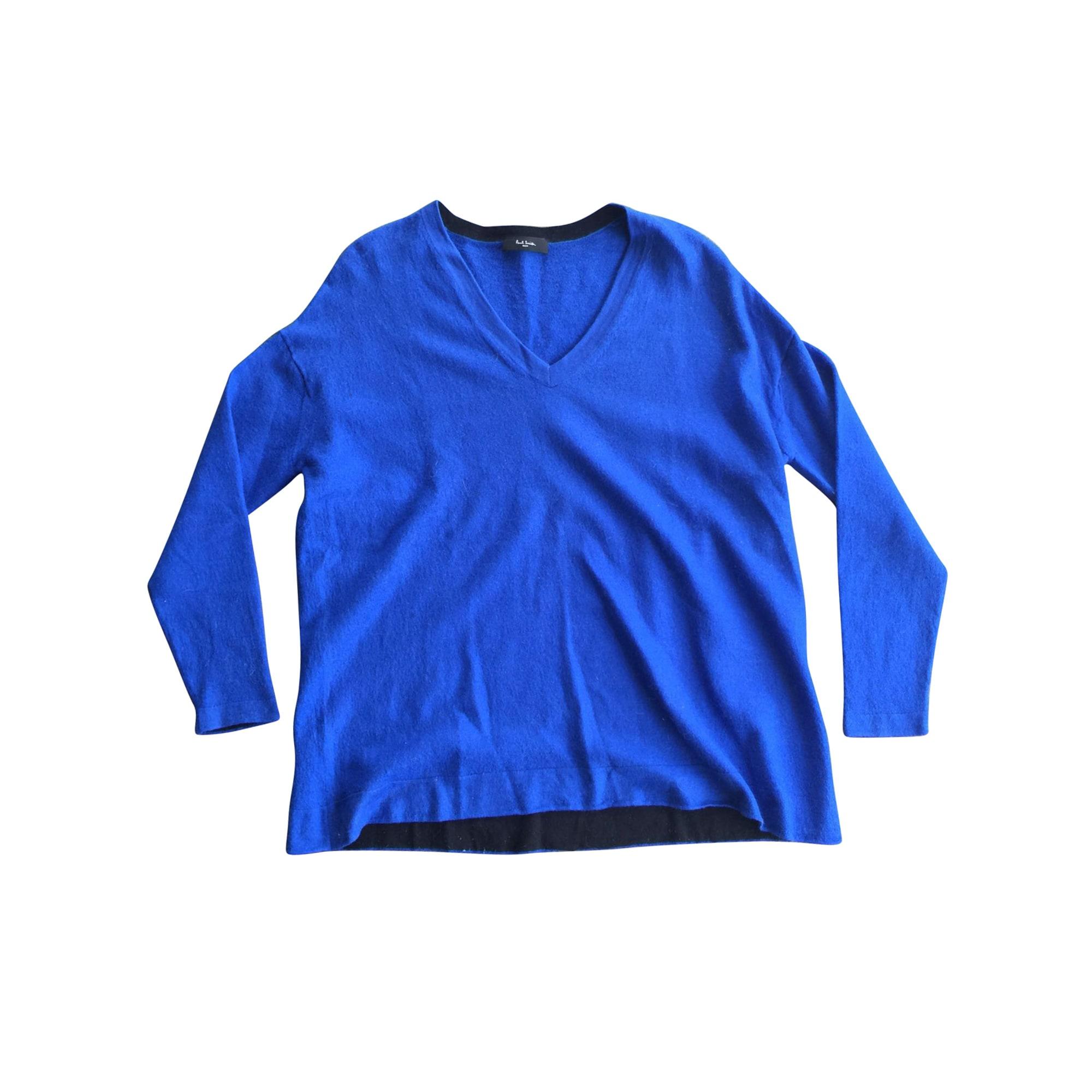 Pull PAUL SMITH Bleu, bleu marine, bleu turquoise
