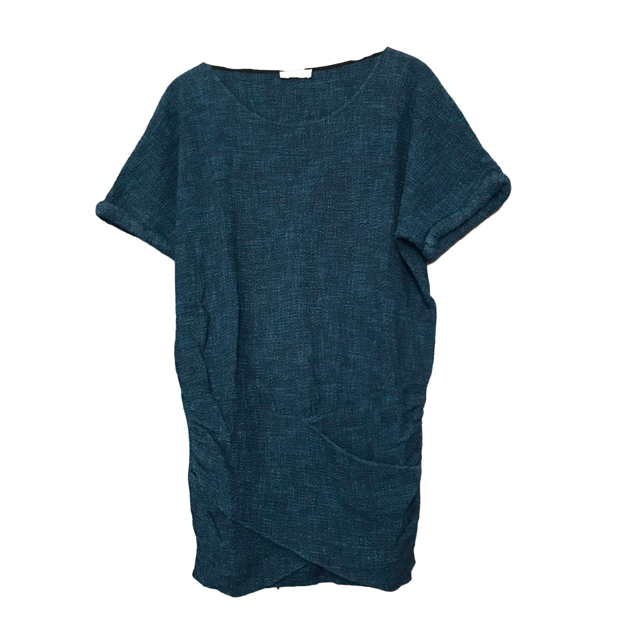 Robe courte BA&SH Bleu, bleu marine, bleu turquoise