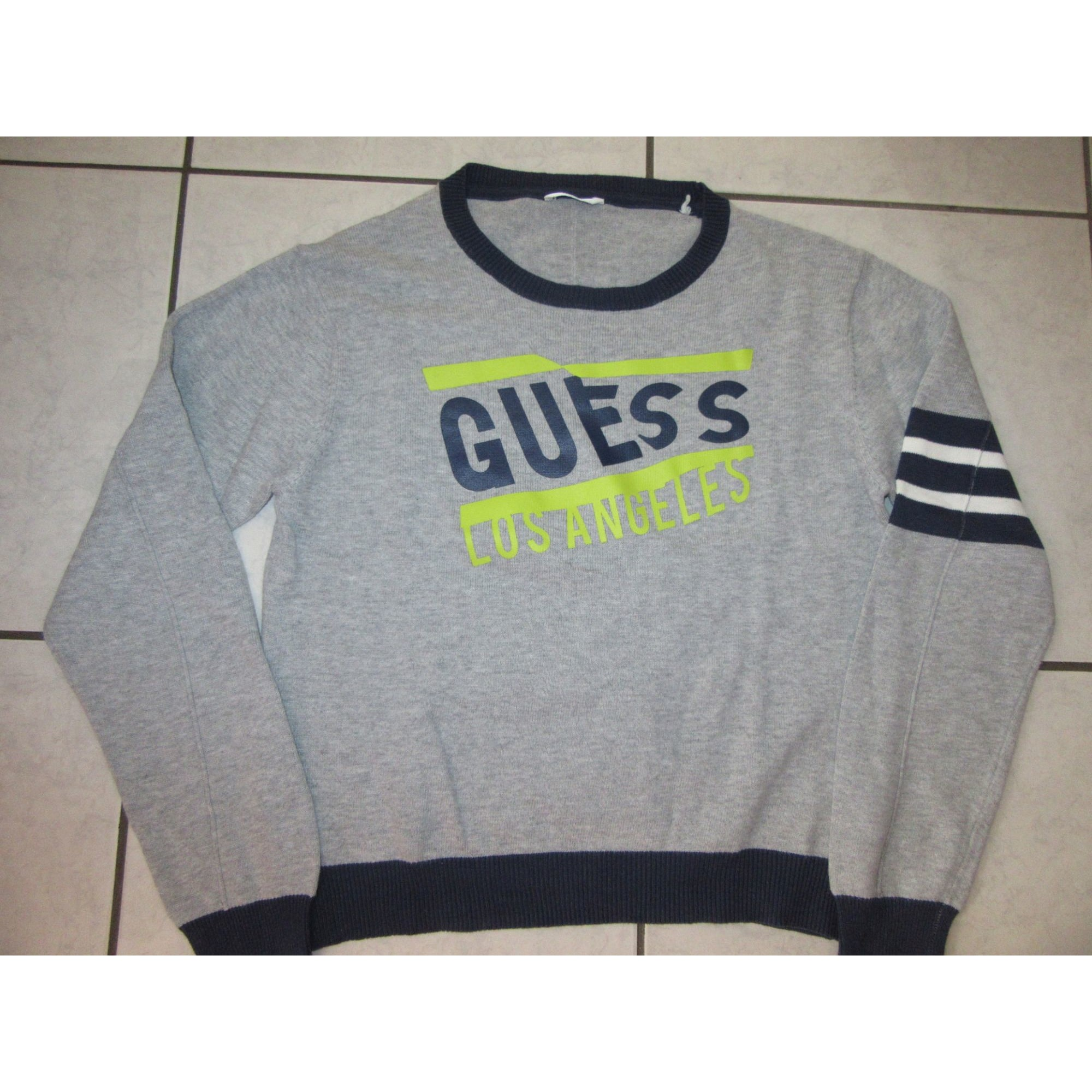 Pull GUESS Gris, anthracite