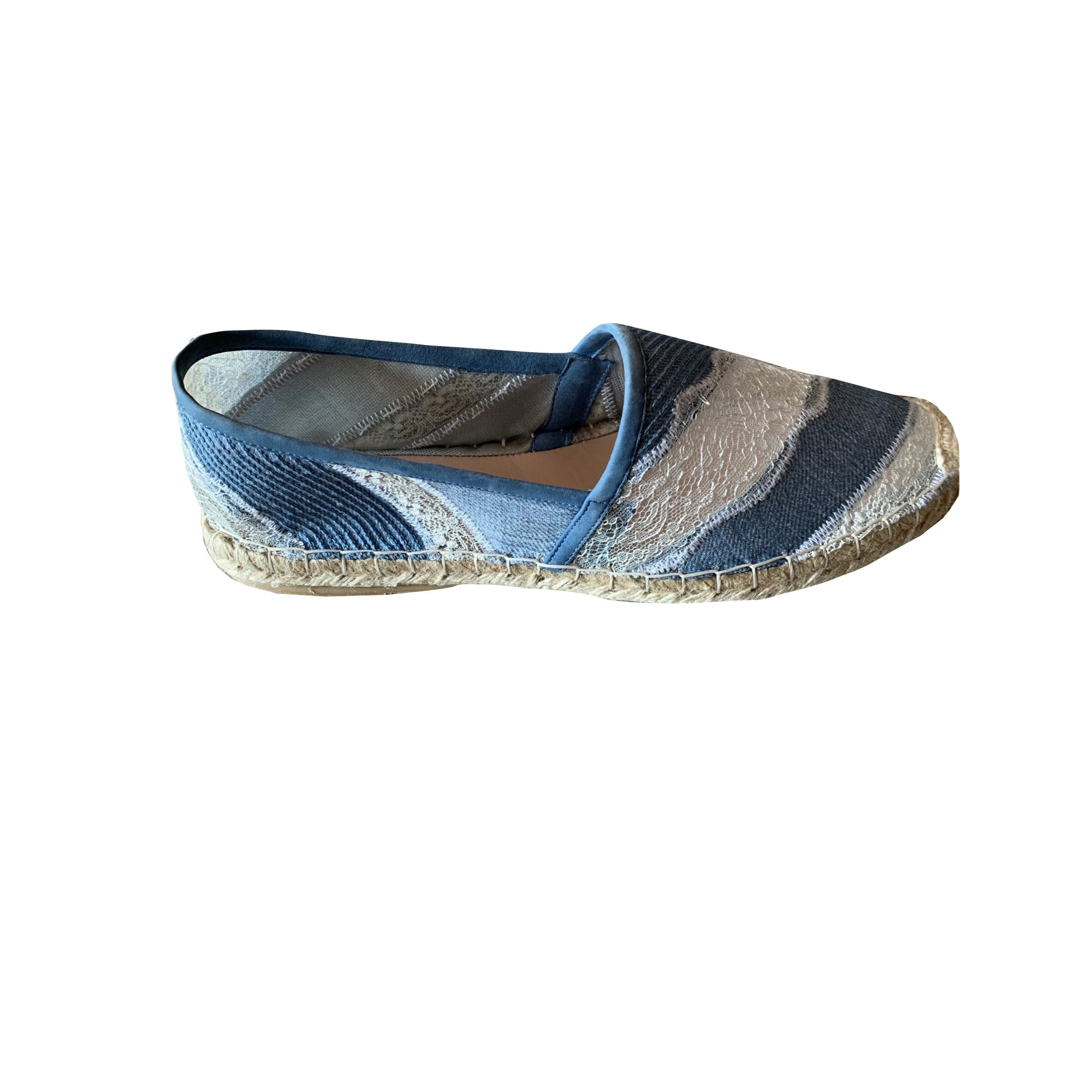 Espadrilles ERMANNO SCERVINO Bleu, bleu marine, bleu turquoise