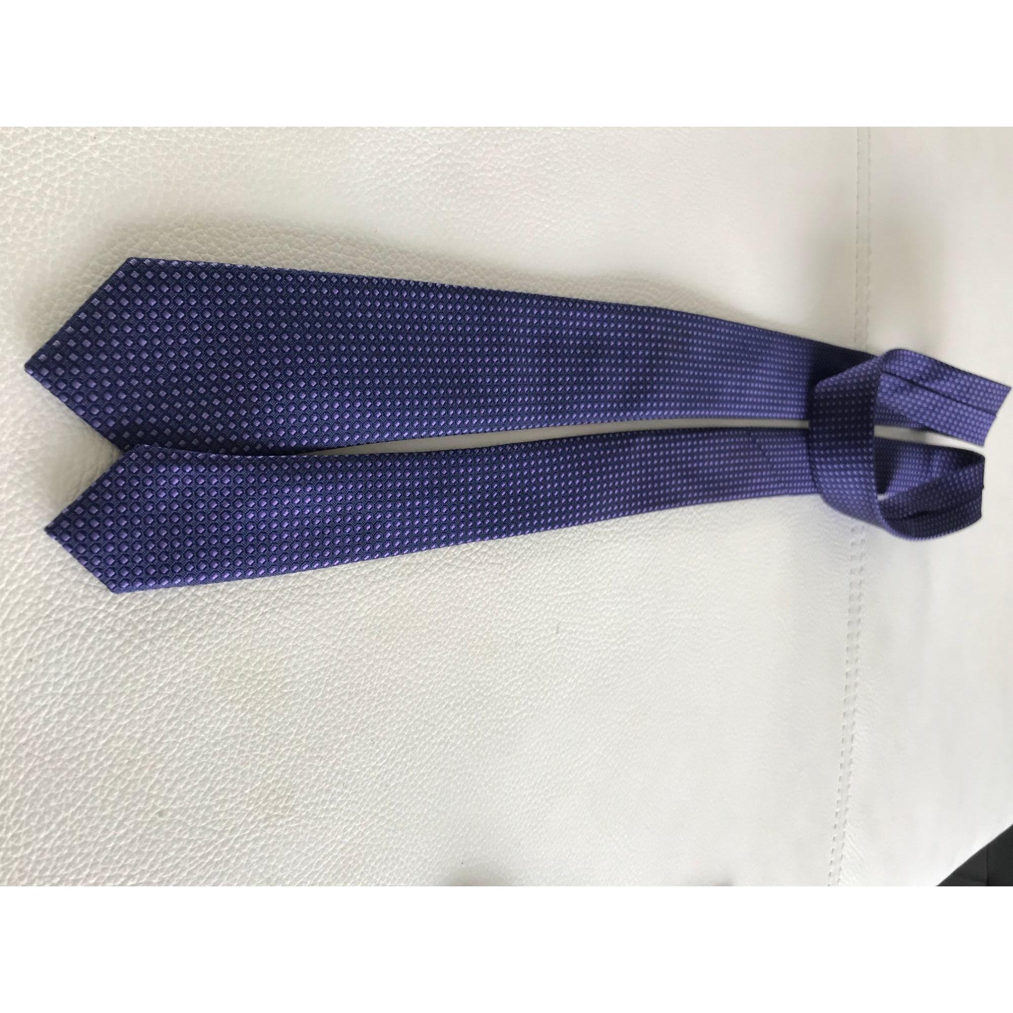Cravate ROCHAS Violet, mauve, lavande
