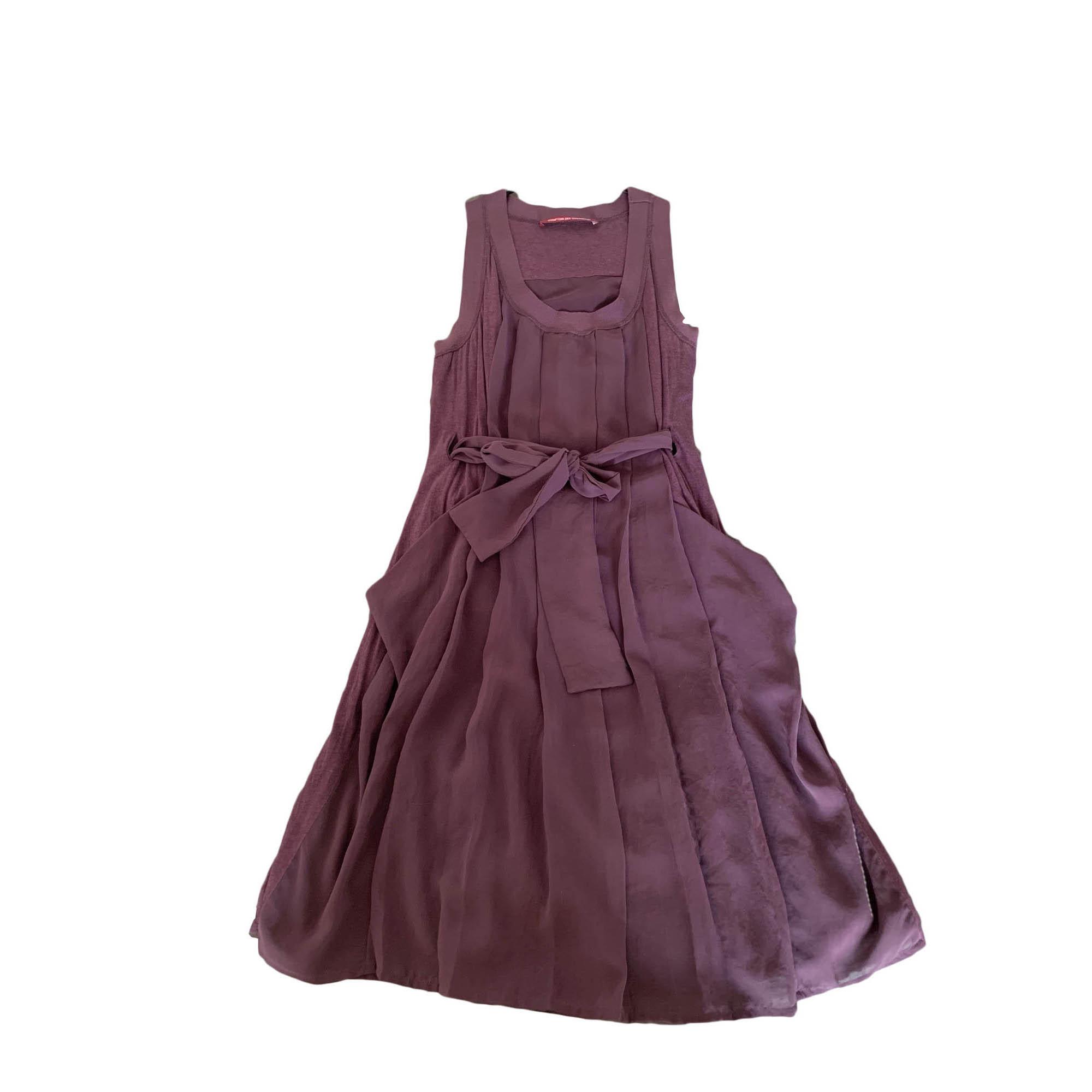 Robe mi-longue COMPTOIR DES COTONNIERS Violet, mauve, lavande
