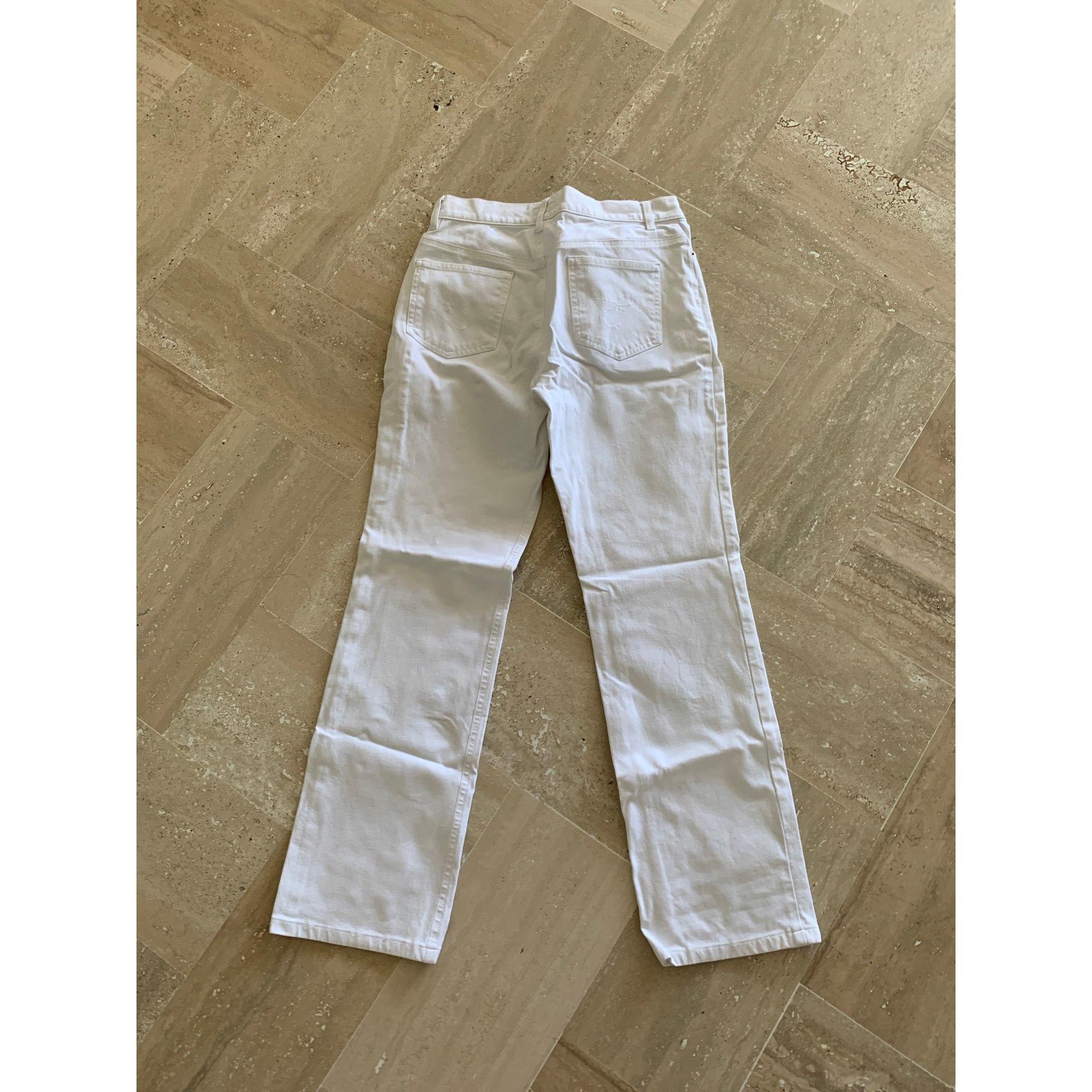 Jeans droit ESCADA Blanc, blanc cassé, écru