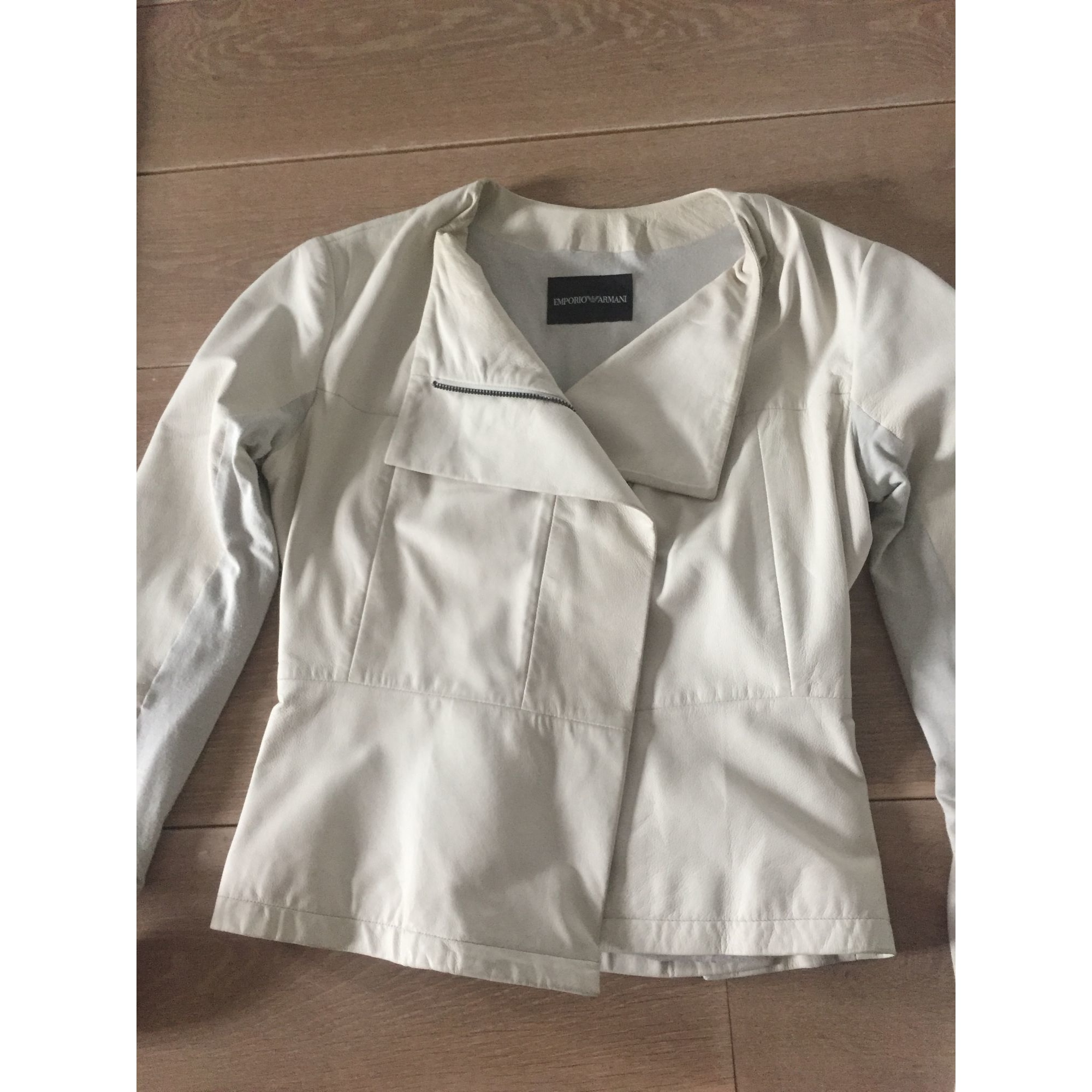 Blazer, veste tailleur EMPORIO ARMANI Gris, anthracite