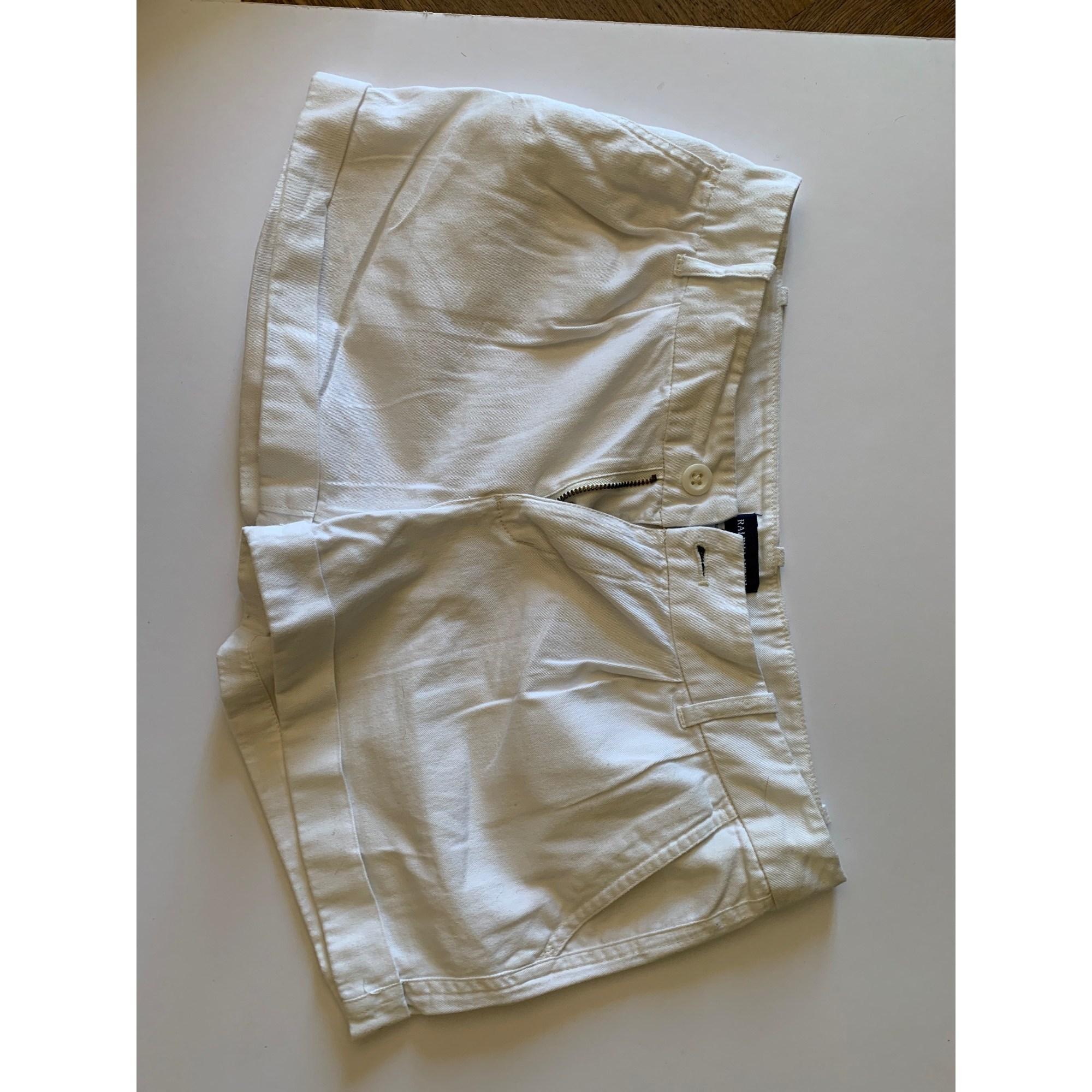 Short RALPH LAUREN Blanc, blanc cassé, écru