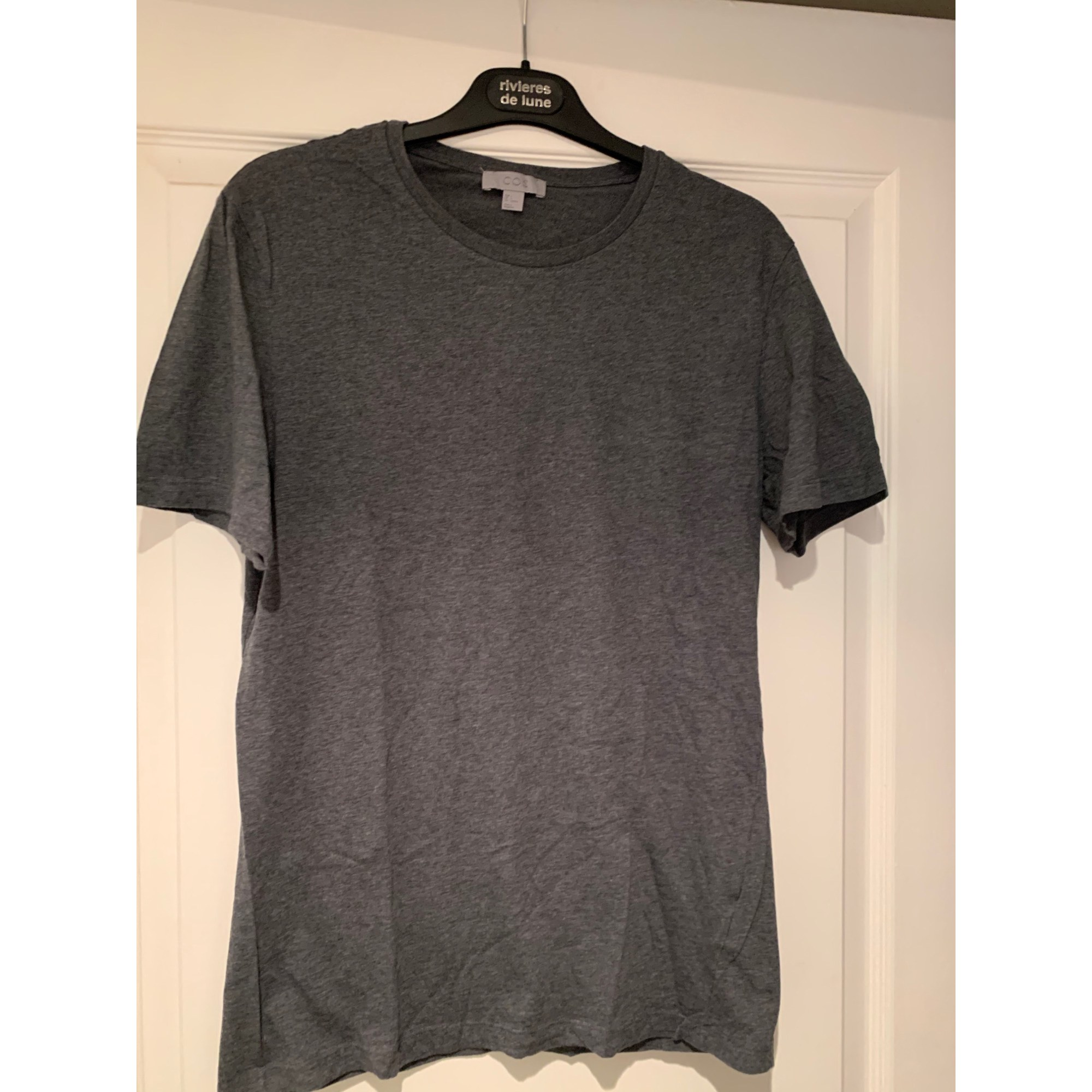 Tee-shirt COS Gris, anthracite