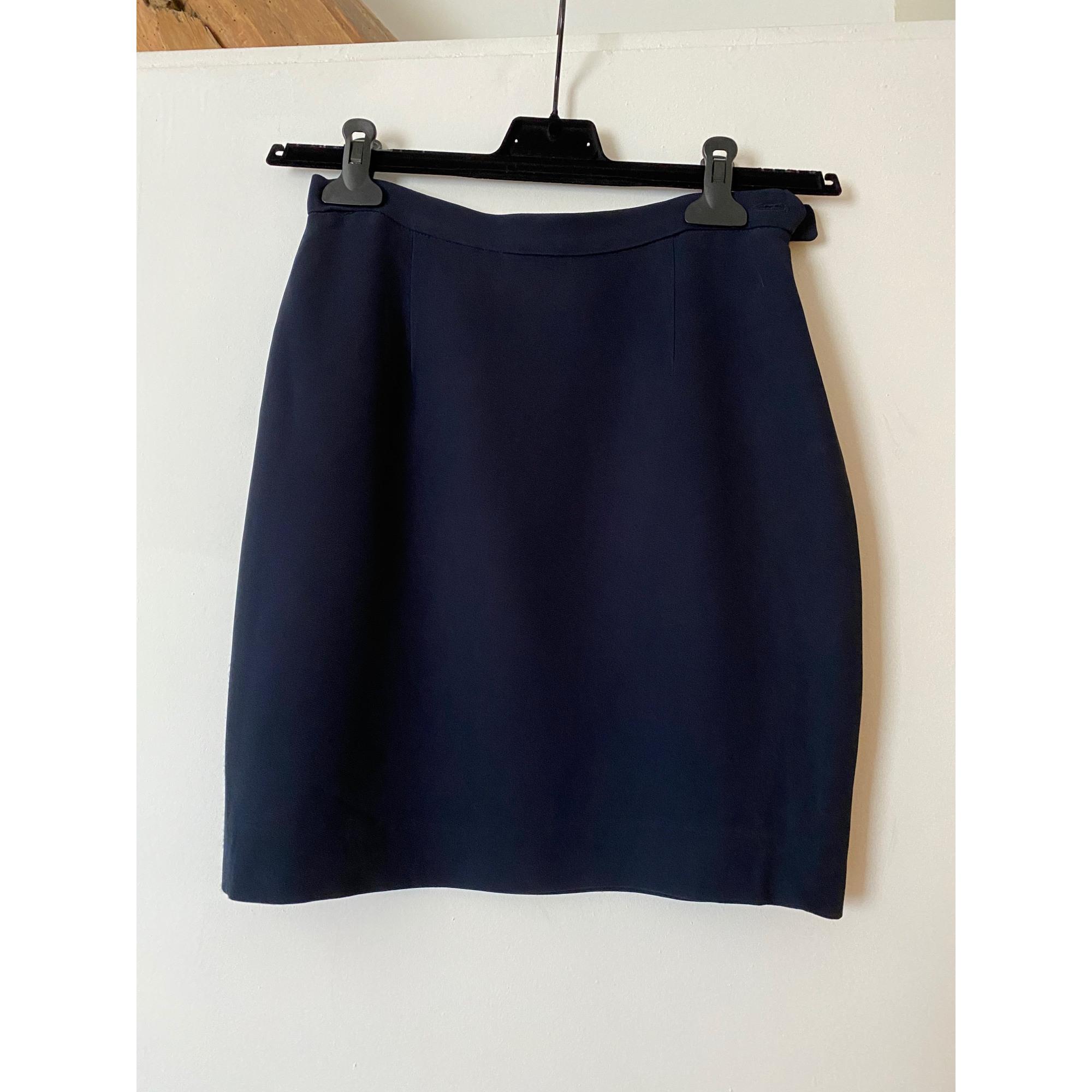 Jupe courte MOSCHINO Bleu, bleu marine, bleu turquoise