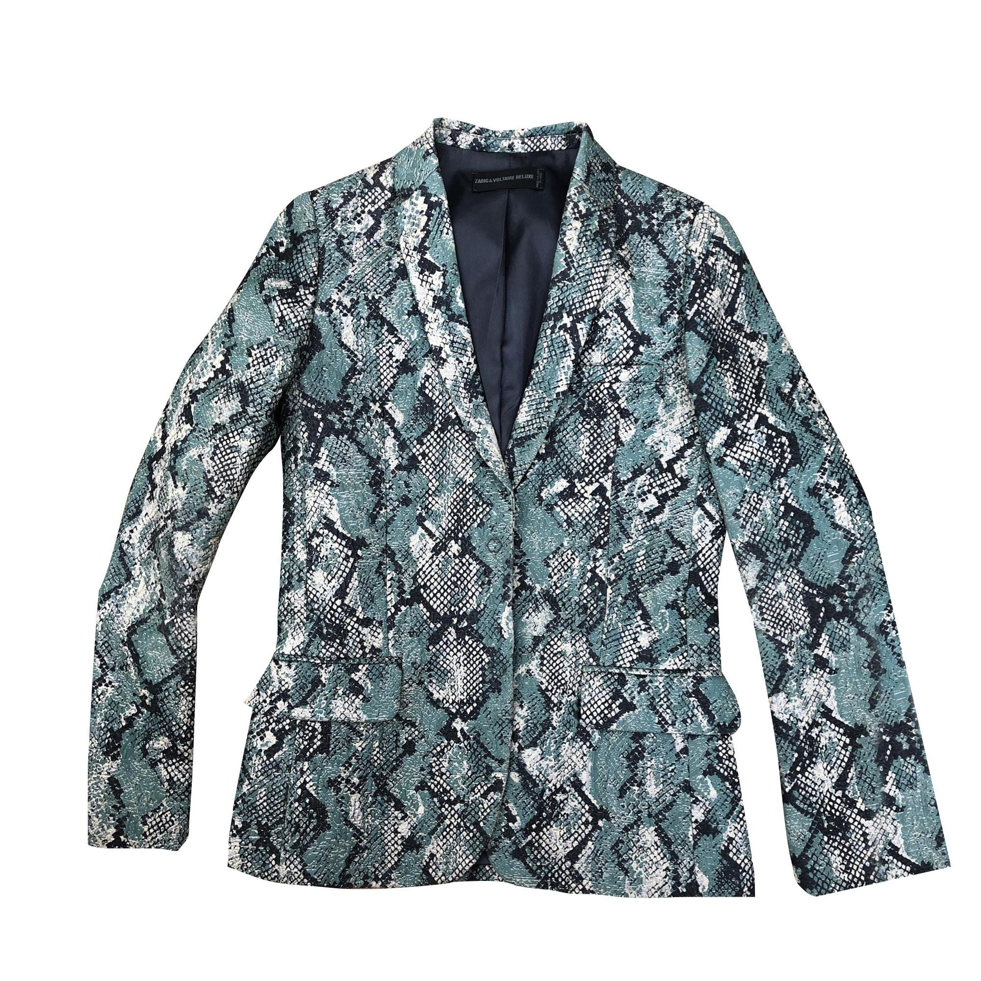 Blazer, veste tailleur ZADIG & VOLTAIRE Imprimés animaliers