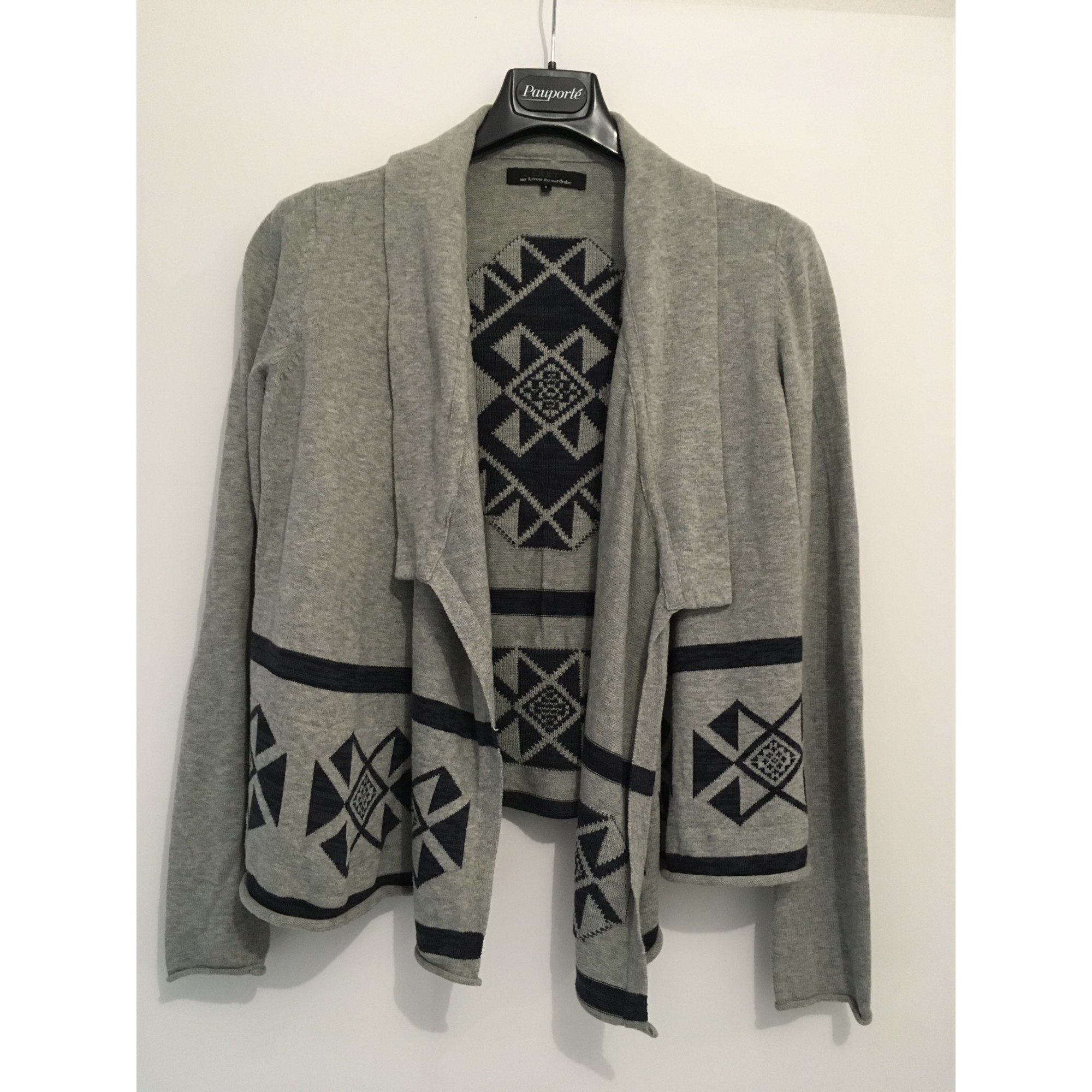 Gilet, cardigan ONLY Gris, anthracite