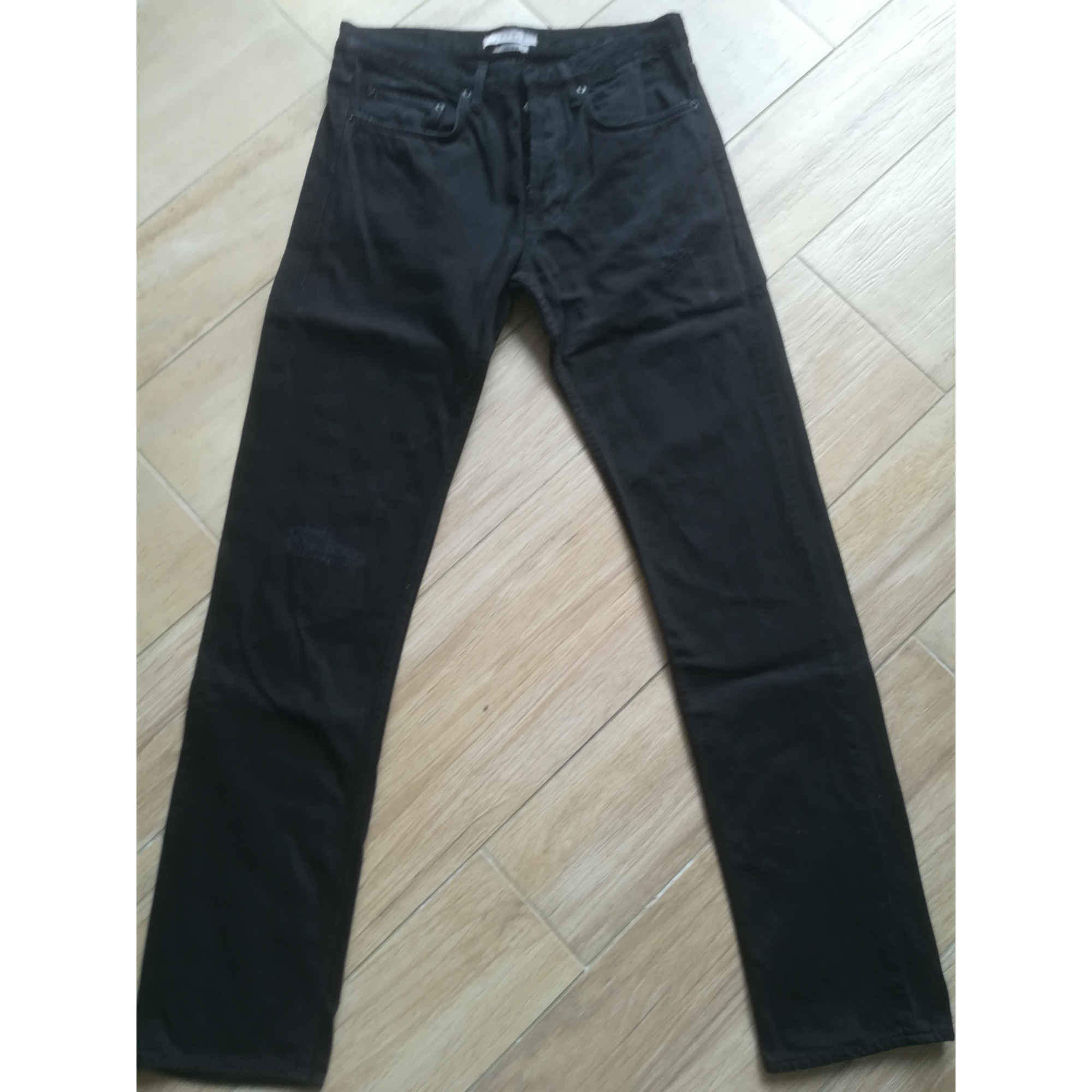 Jeans droit SANDRO Noir