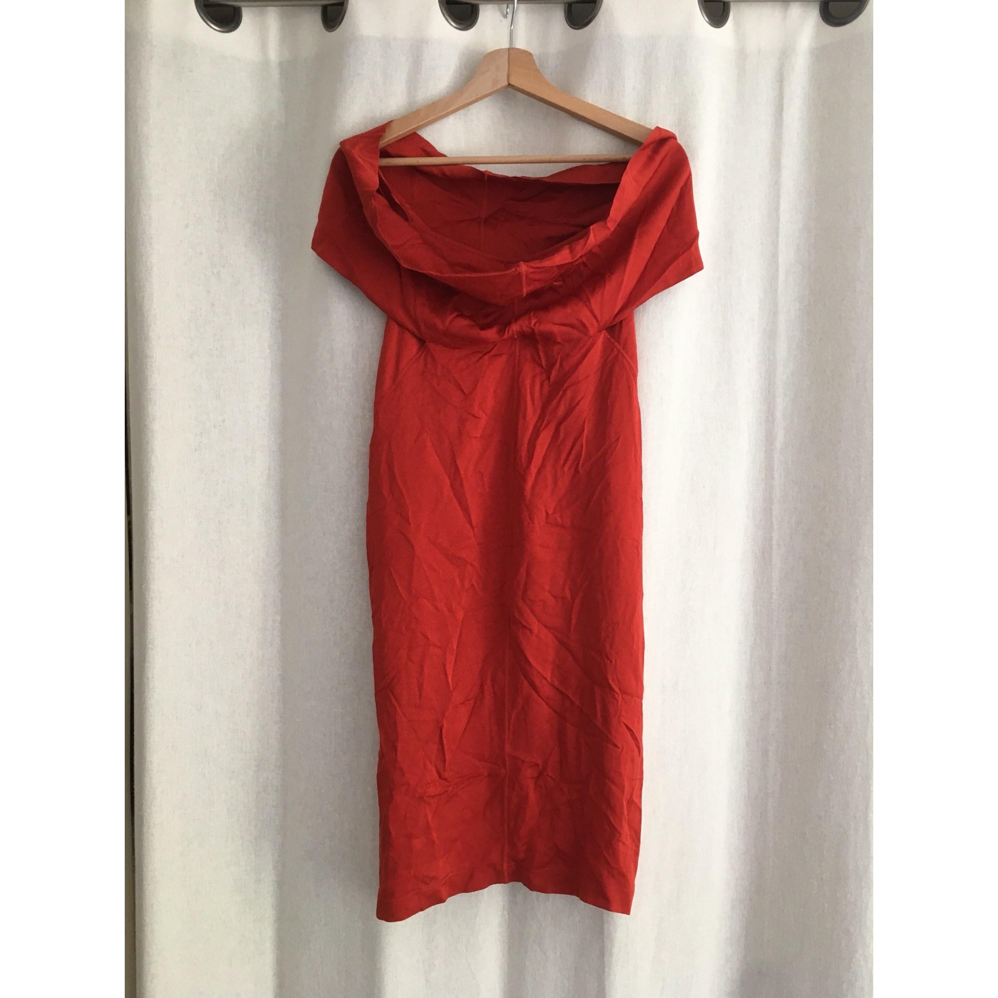 Robe courte PAUL SMITH Rouge, bordeaux