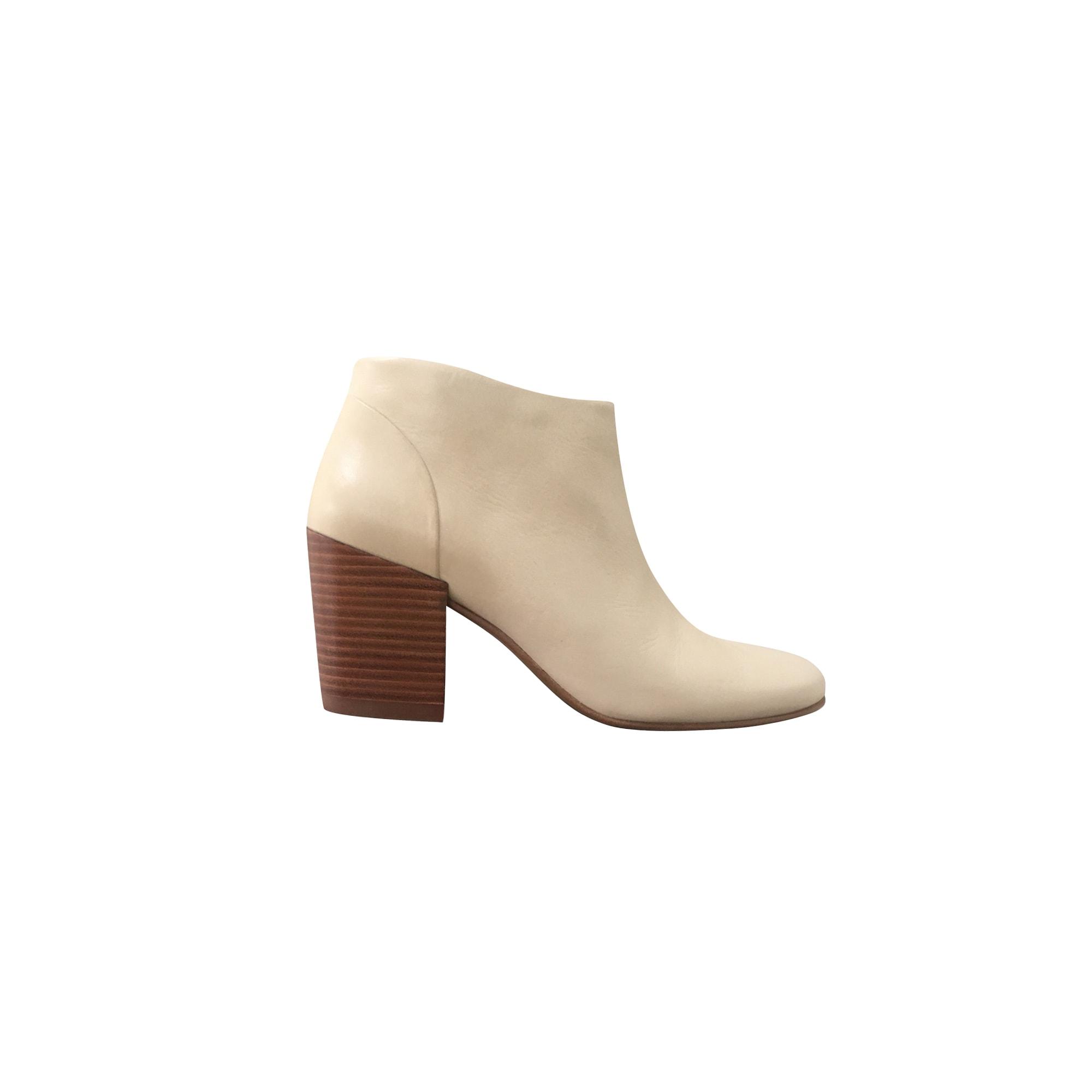 Bottines & low boots à talons COTÉLAC Beige, camel