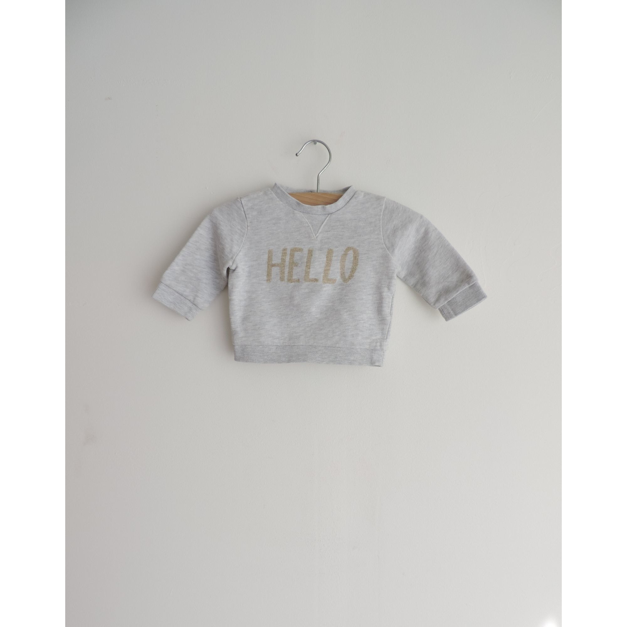 Sweatshirt KIABI Gray, charcoal