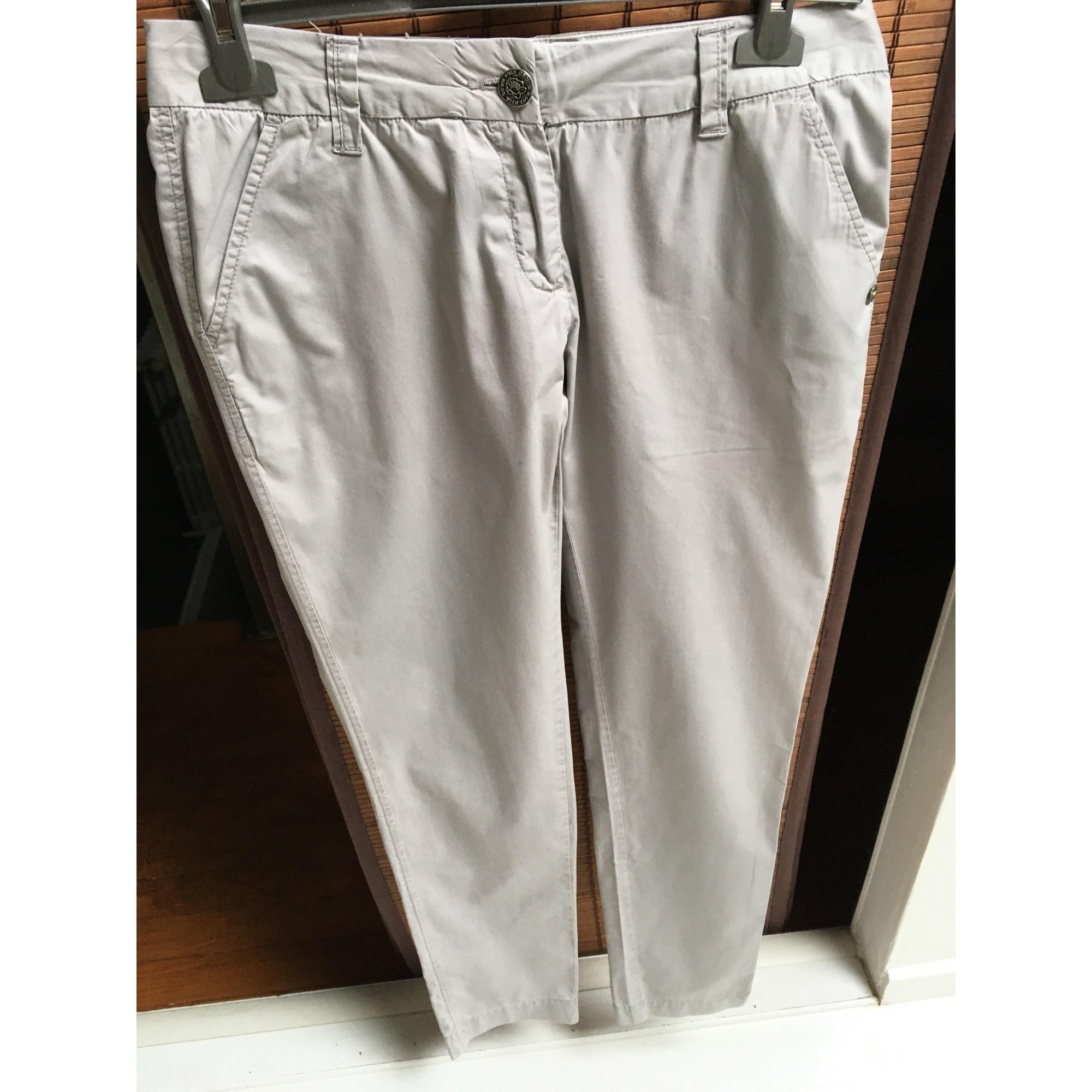Pantalon droit CKS Beige, camel
