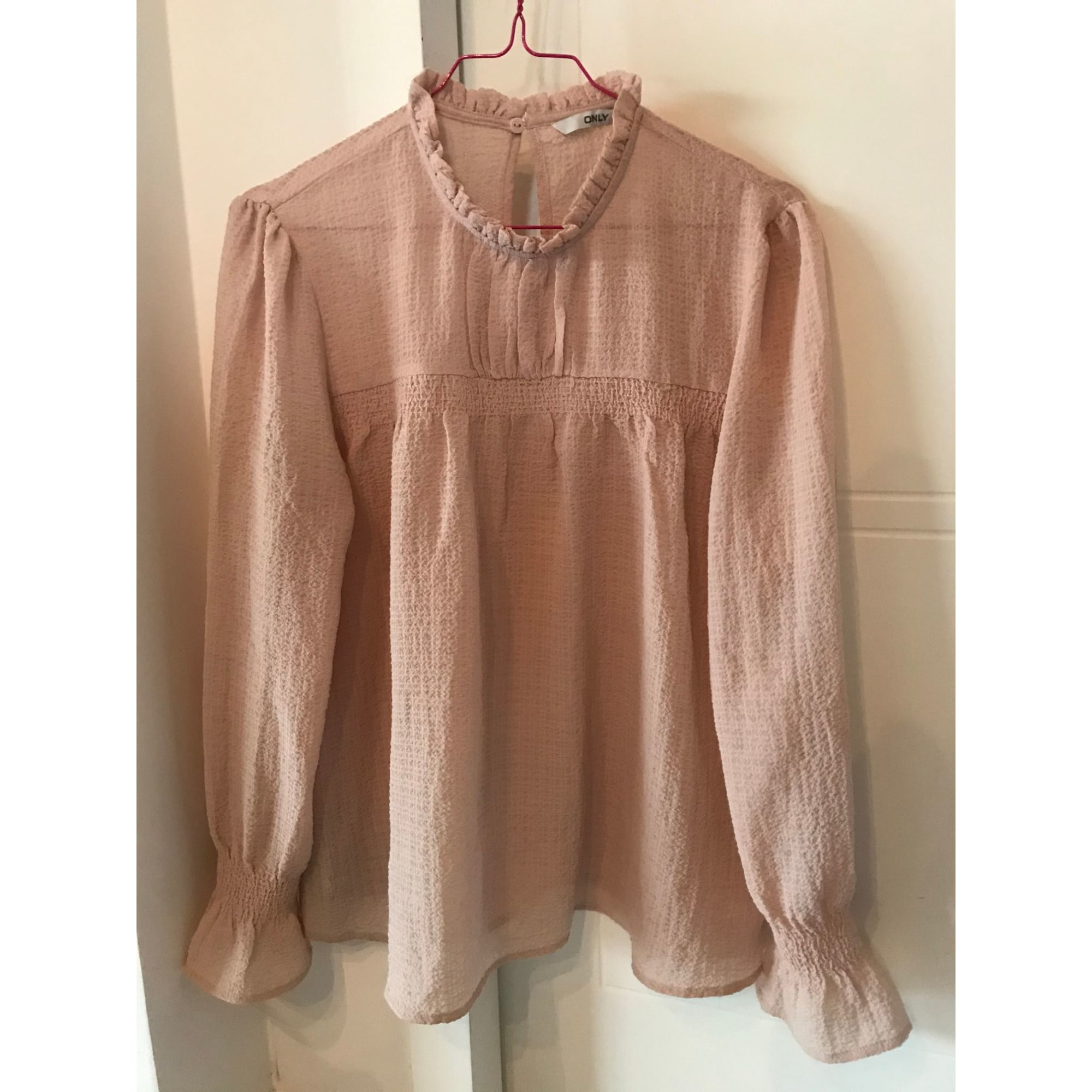 Blouse ONLY Rose, fuschia, vieux rose
