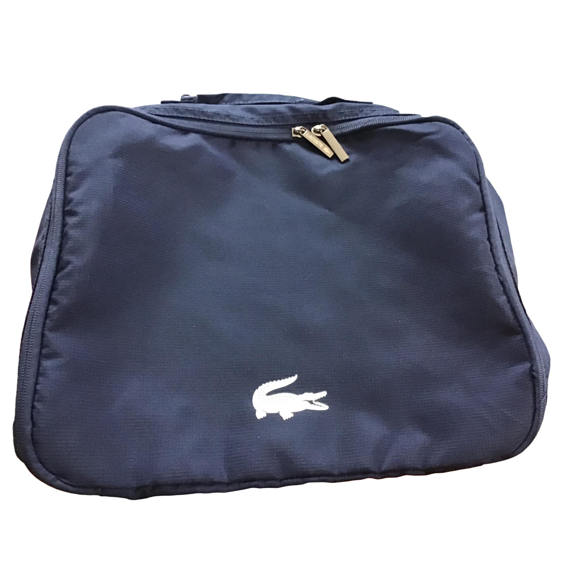 Porte document, serviette LACOSTE Bleu, bleu marine, bleu turquoise