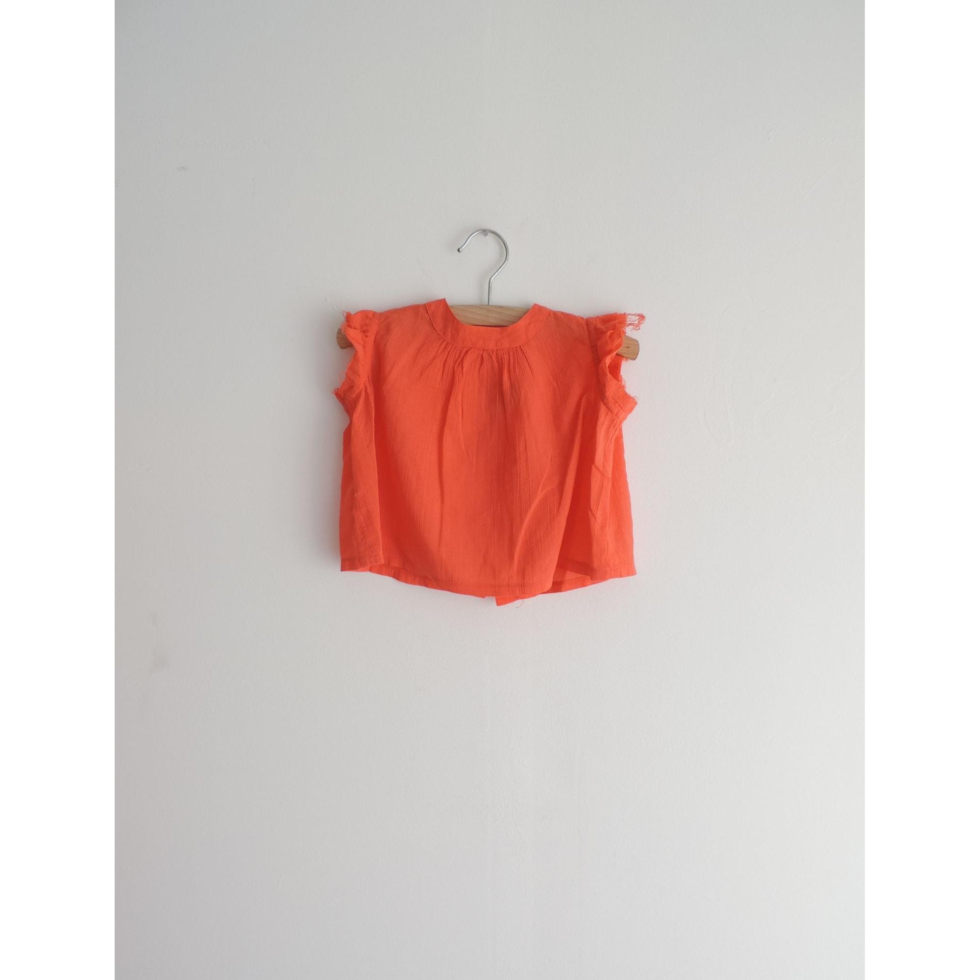 Top, tee shirt BONTON Orange