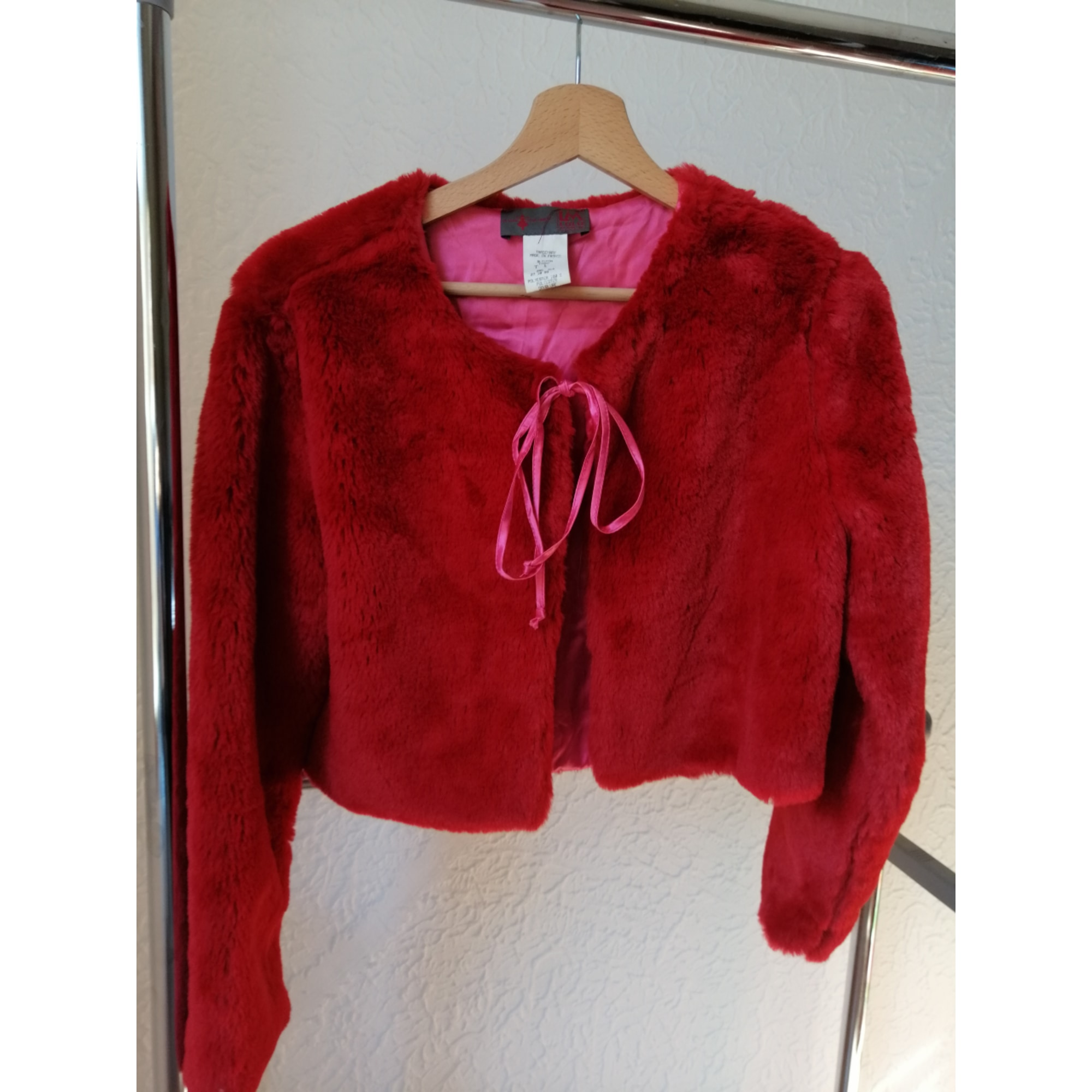 Blazer, veste tailleur LM LULU Rouge, bordeaux