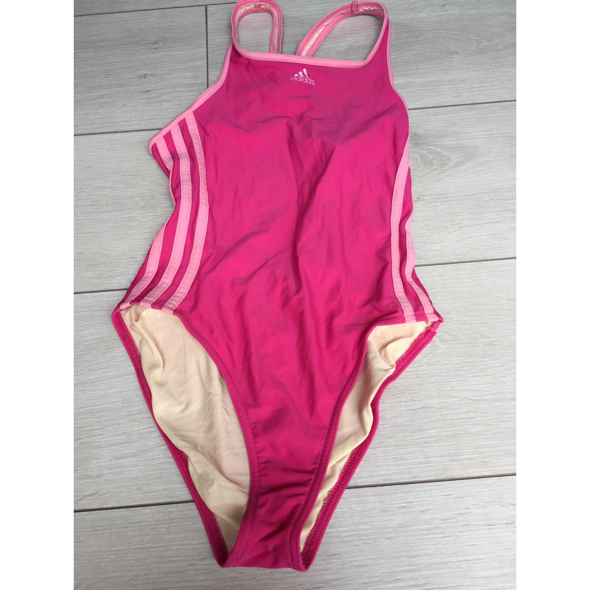 Maillot de natation ADIDAS Rose, fuschia, vieux rose
