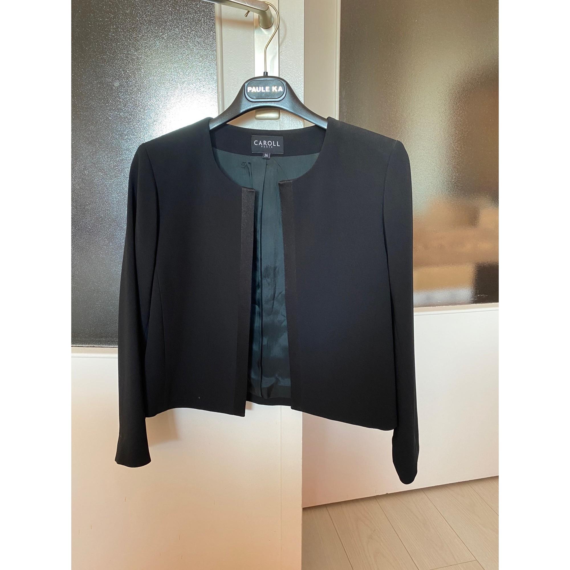 Blazer, veste tailleur CAROLL Noir