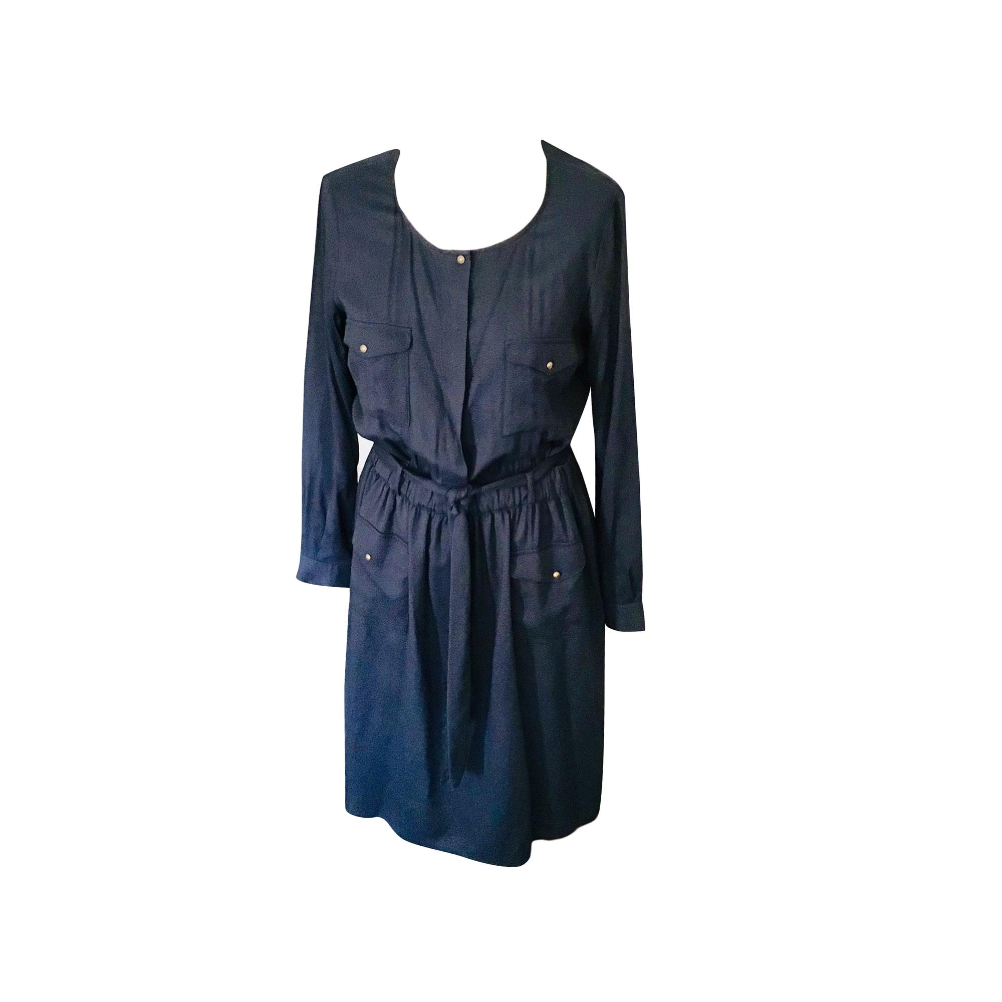 Robe mi-longue SESSUN Bleu, bleu marine, bleu turquoise