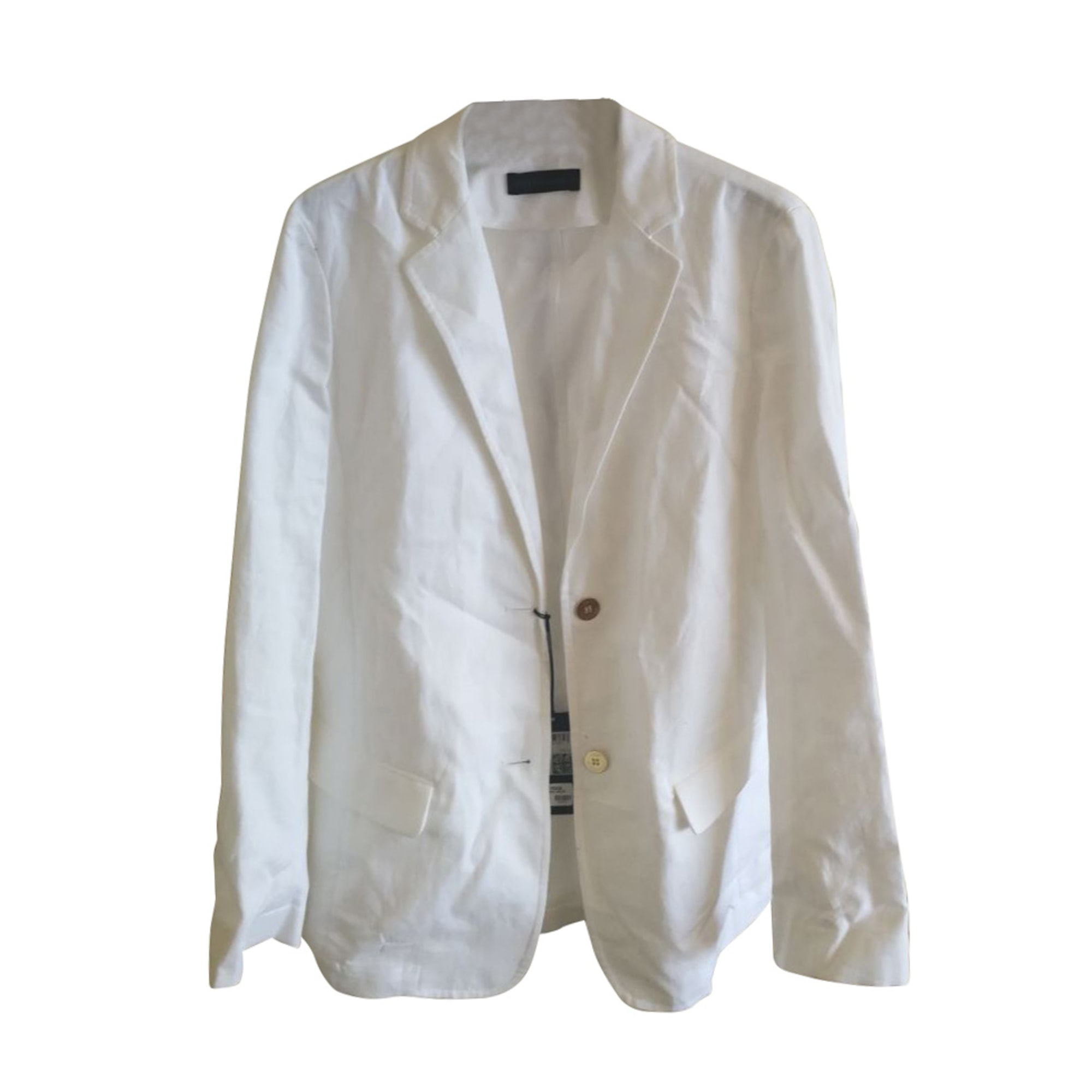 Veste TRUSSARDI Blanc, blanc cassé, écru