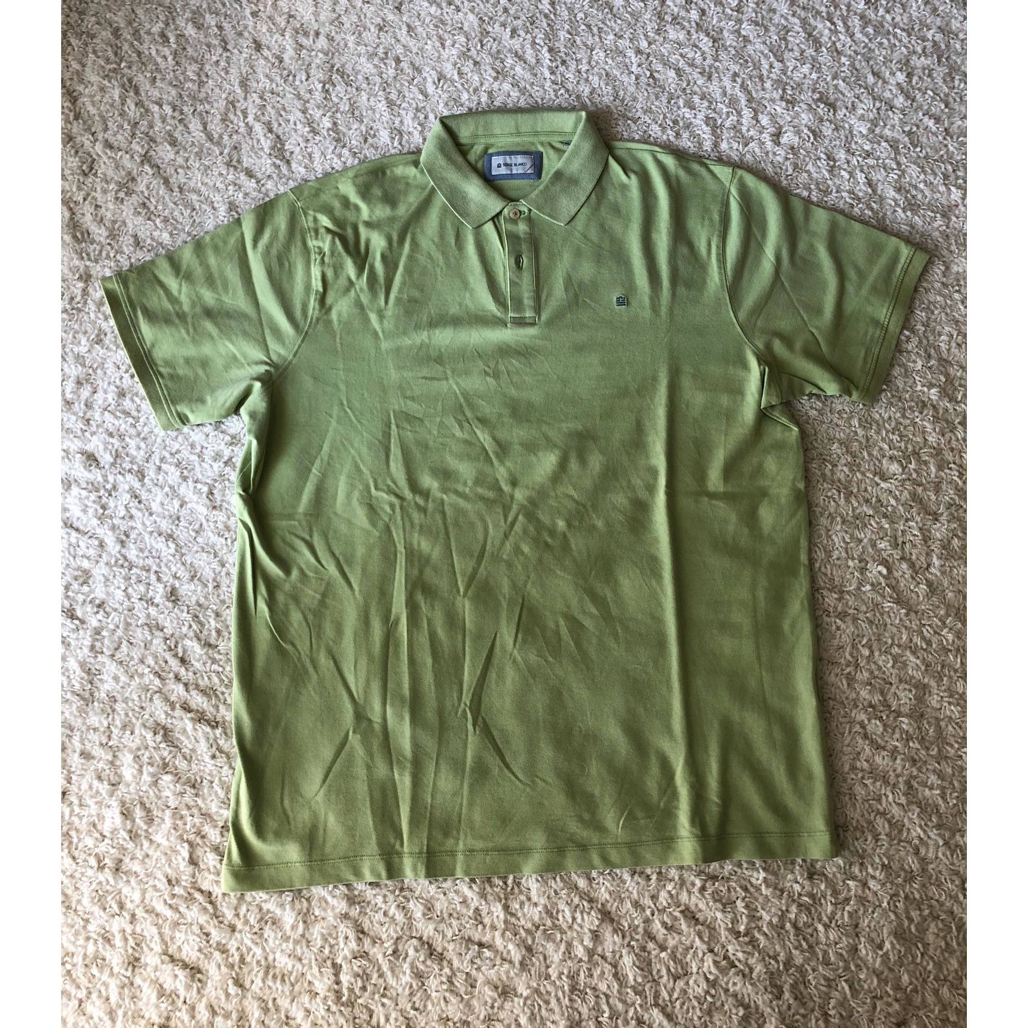 Polo SERGE BLANCO Vert