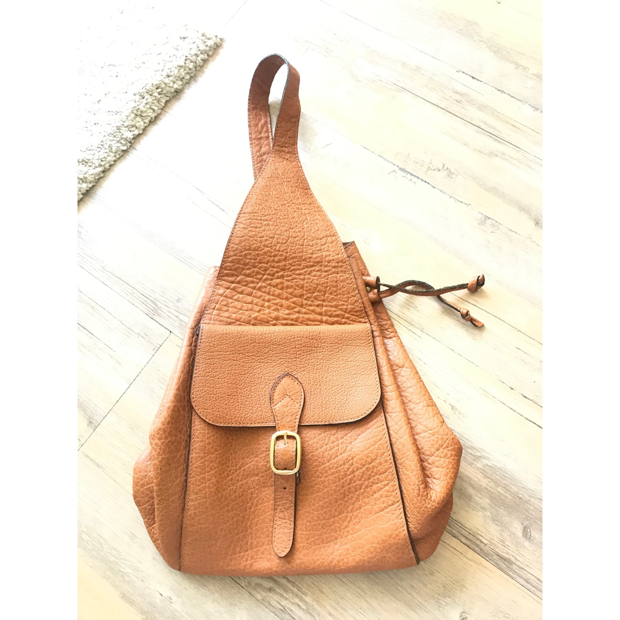 Backpack MARQUE INCONNUE Brown