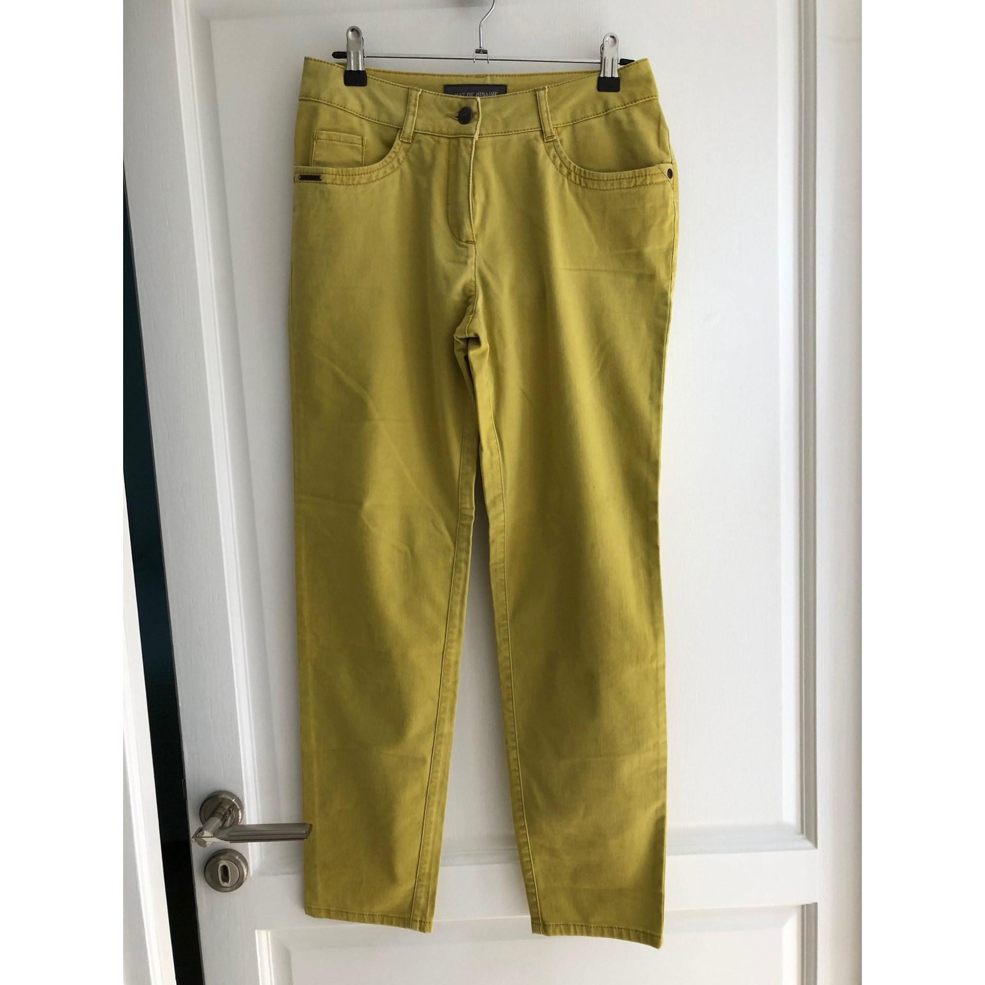 Pantalon droit MAT DE MISAINE Vert