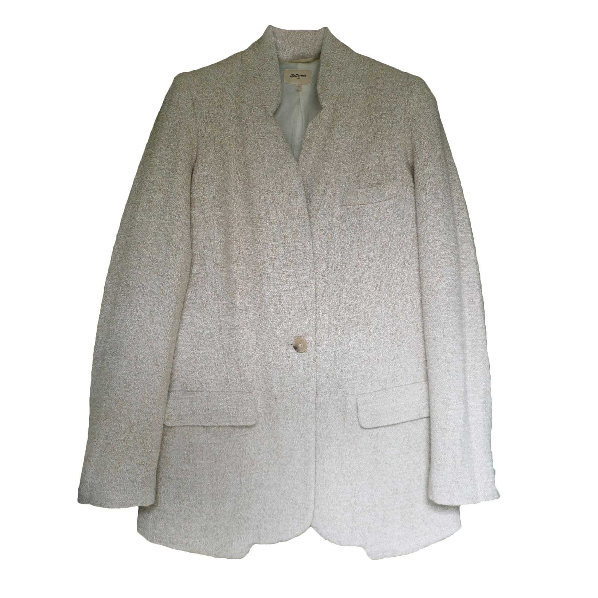 Veste BELLEROSE Blanc, blanc cassé, écru