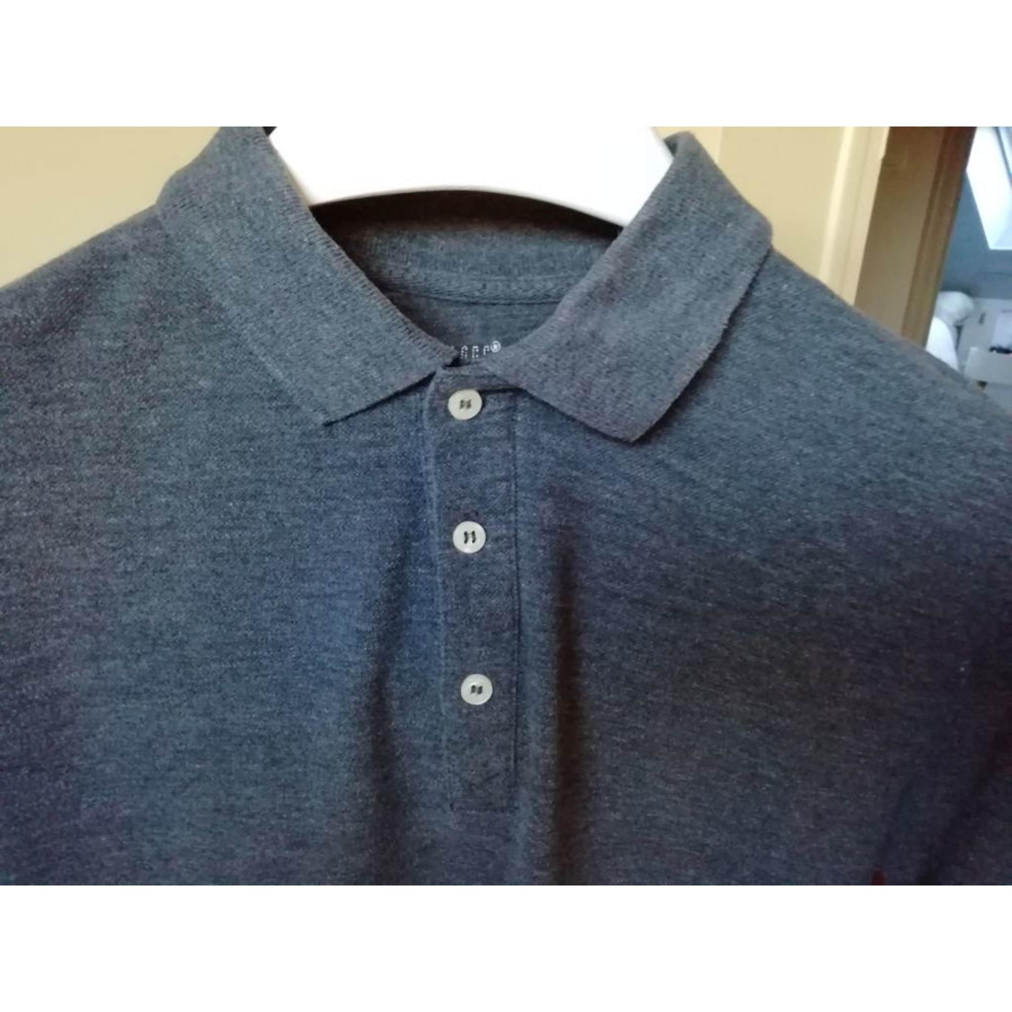 Polo H&M Gris, anthracite